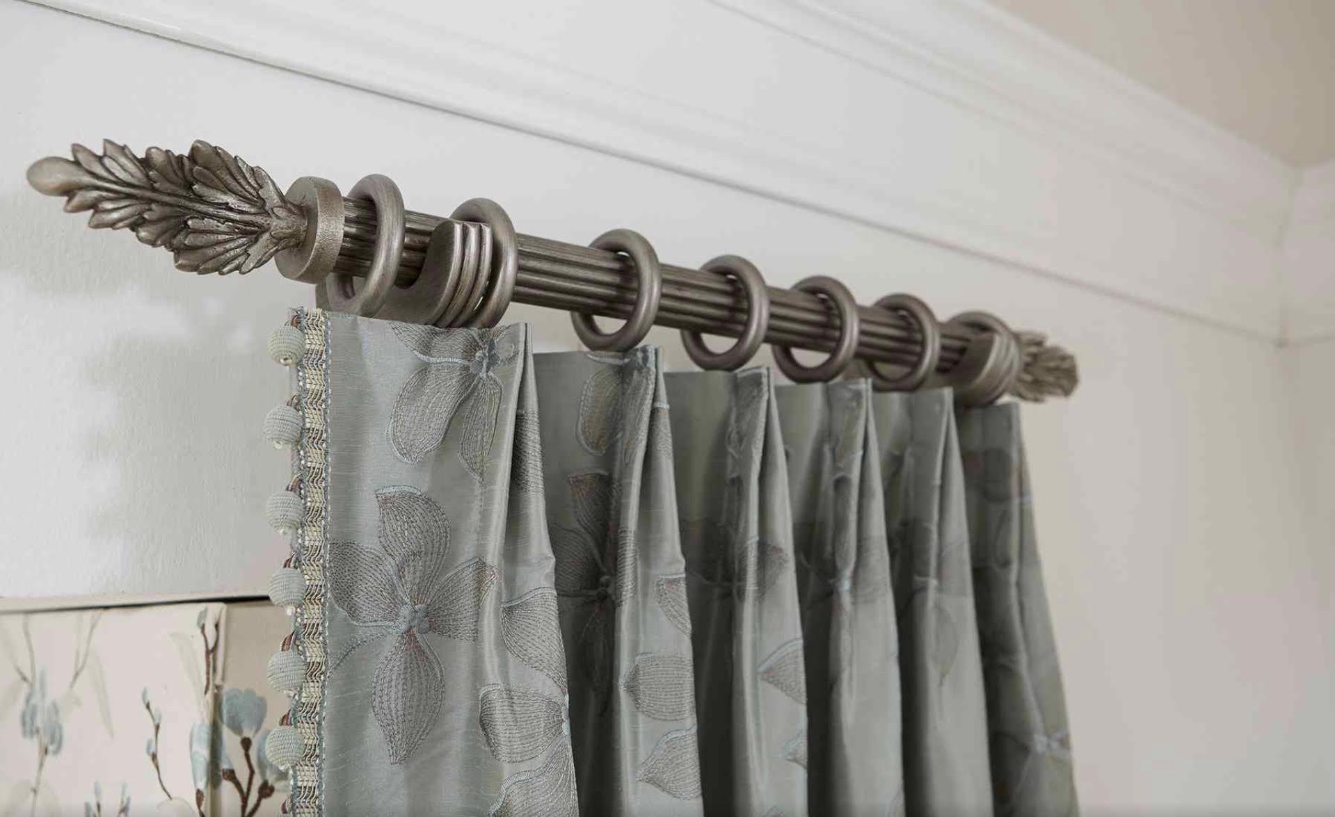 Crown Pleat Drapery Side Panel