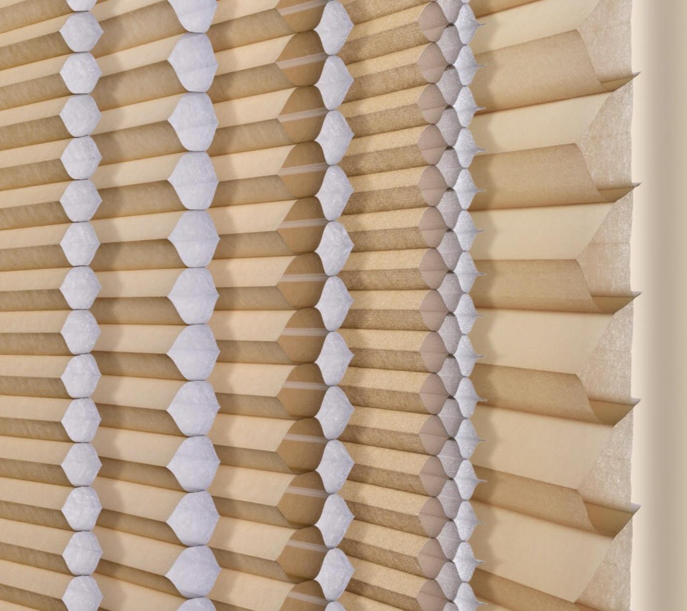 Honeycomb Pleat Size Comparison
