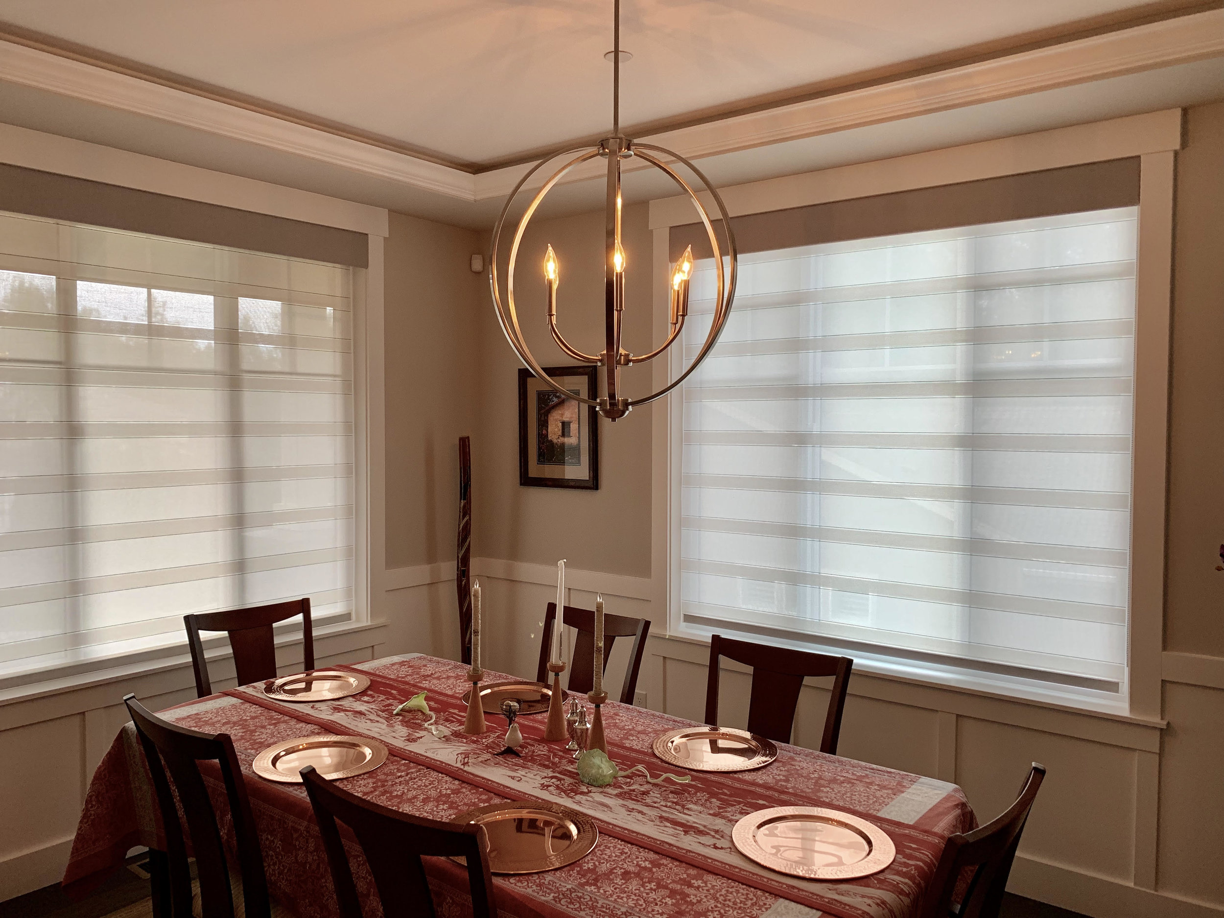 Translucent Roller Shade Providing UV Protection
