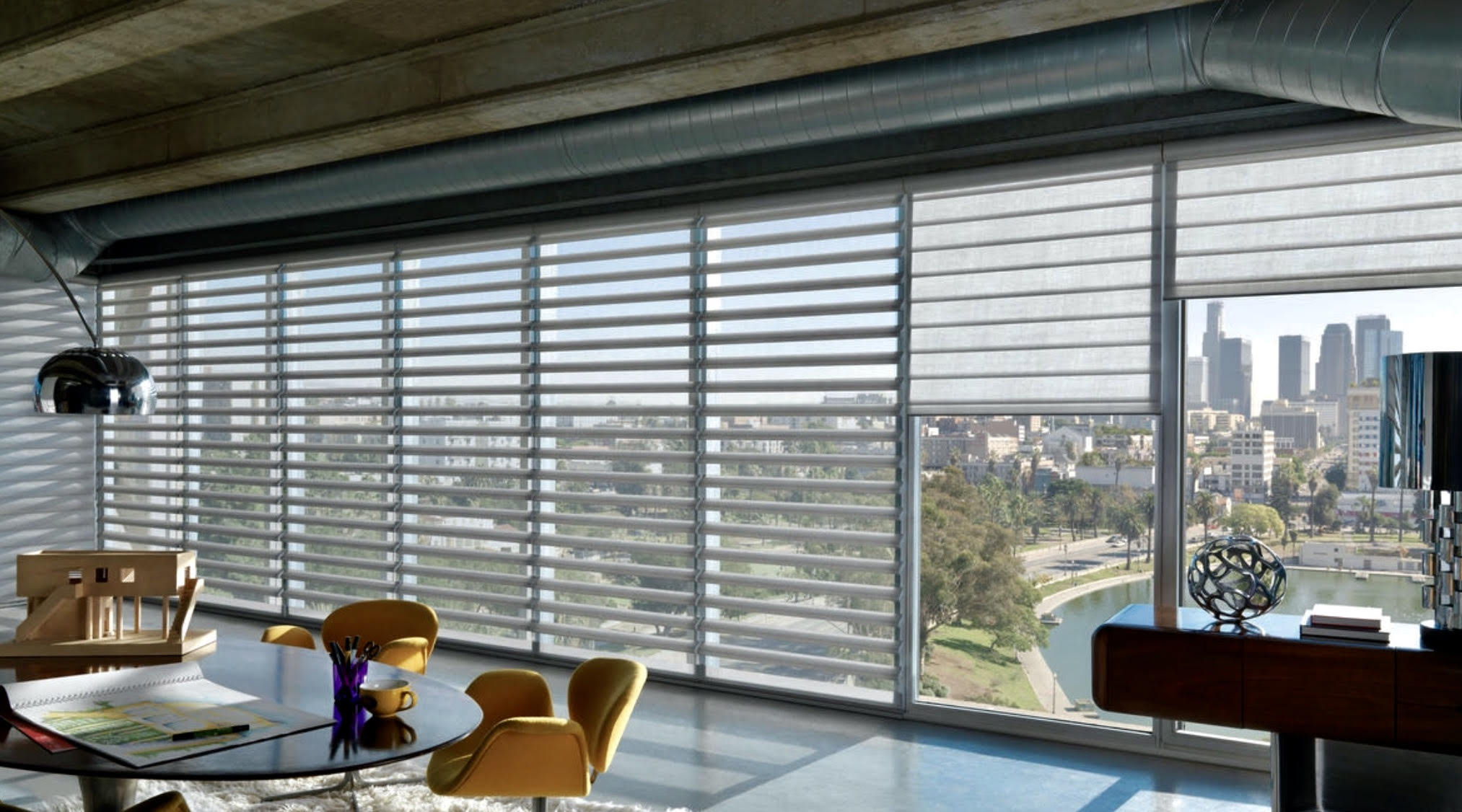 Side By Side Hunter Douglas Silhouettes