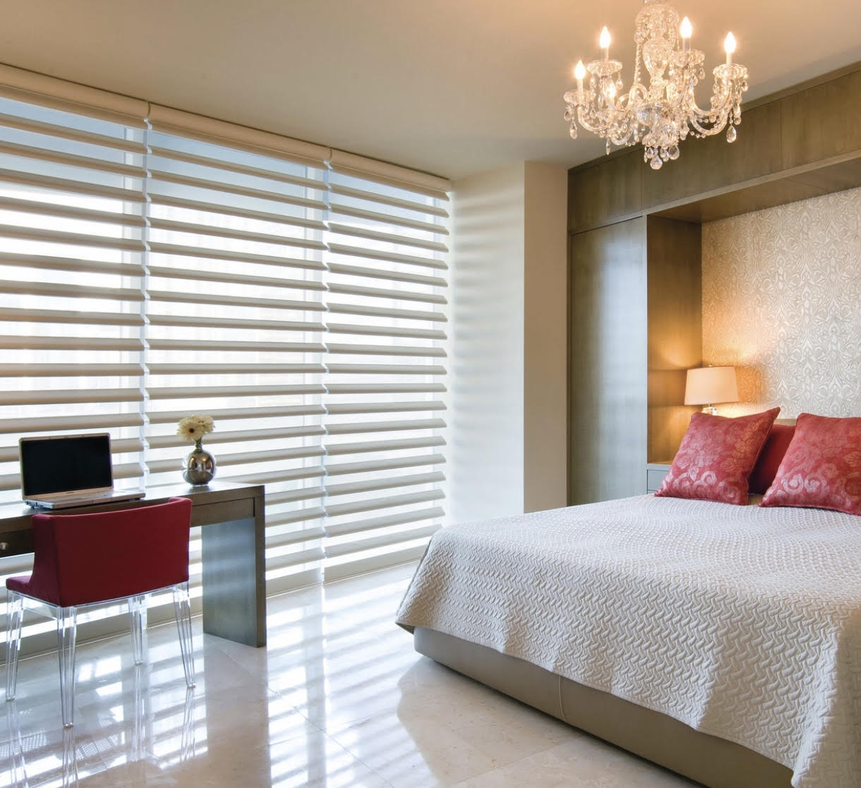 Side By Side Hunter Douglas Pirouette Shades