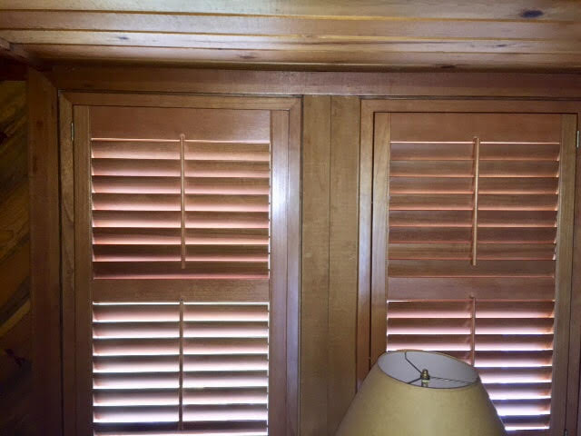 """Traditional 2 1/2"""" Wood Shutters"""