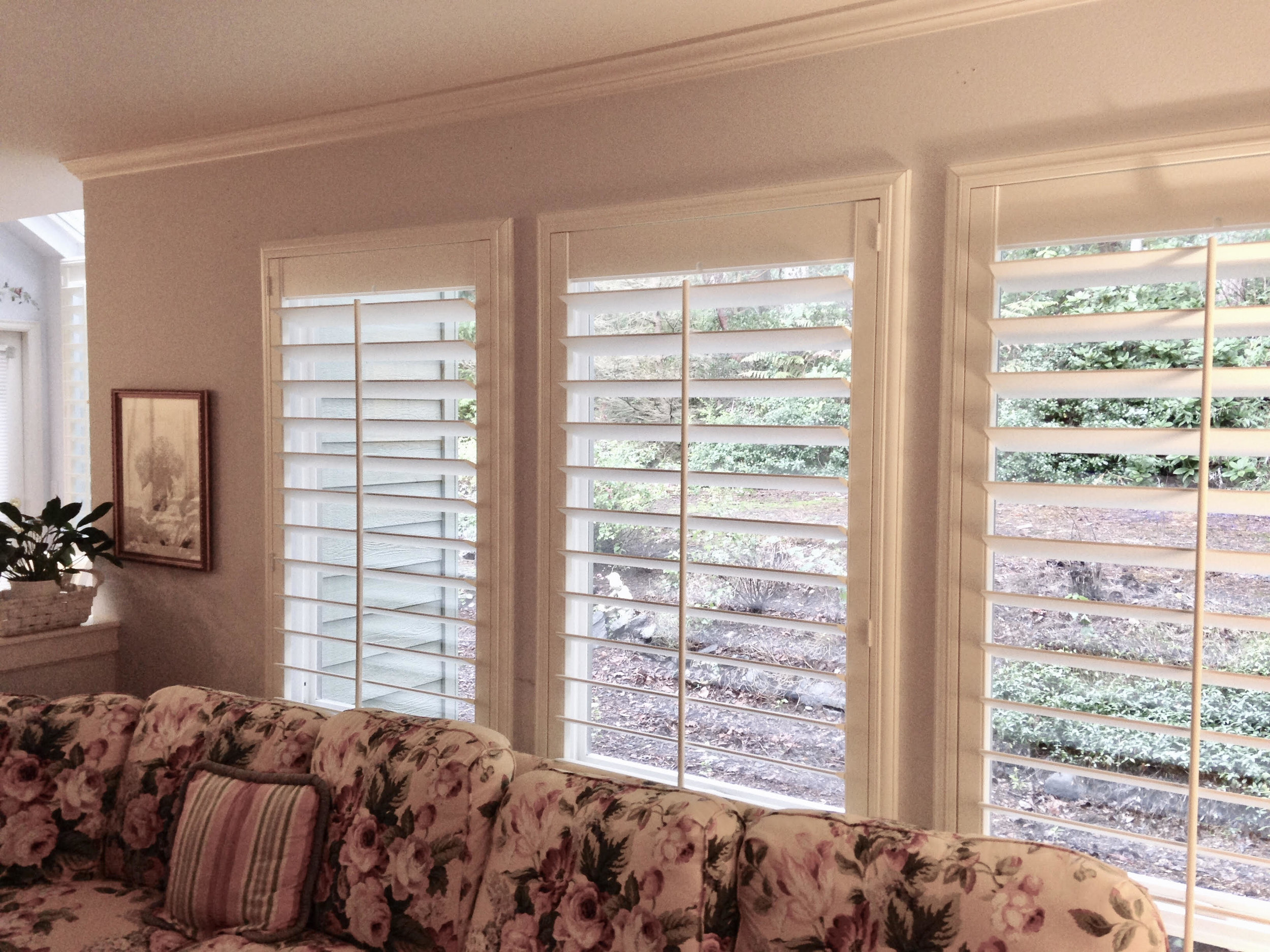"""Norman Composite Shutters with 4 1/2"""" Louvers - Traditional Tilt"""