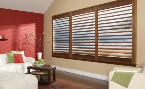 Wide Panel Wood Shutters