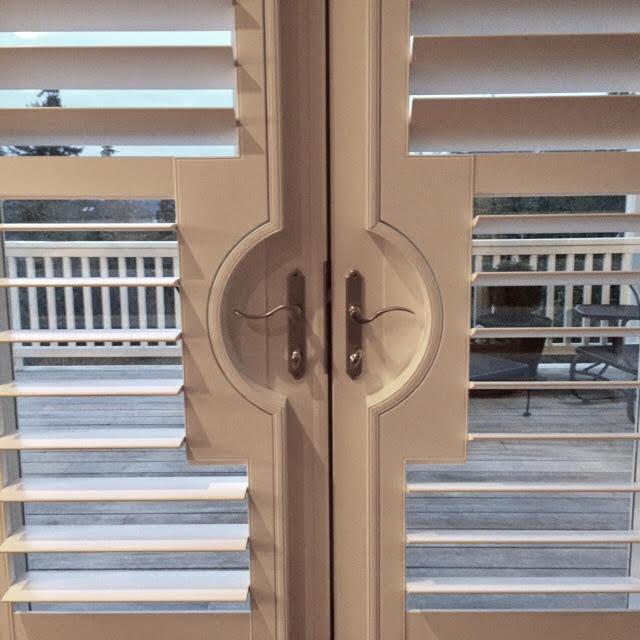 Custom French Door Cutout