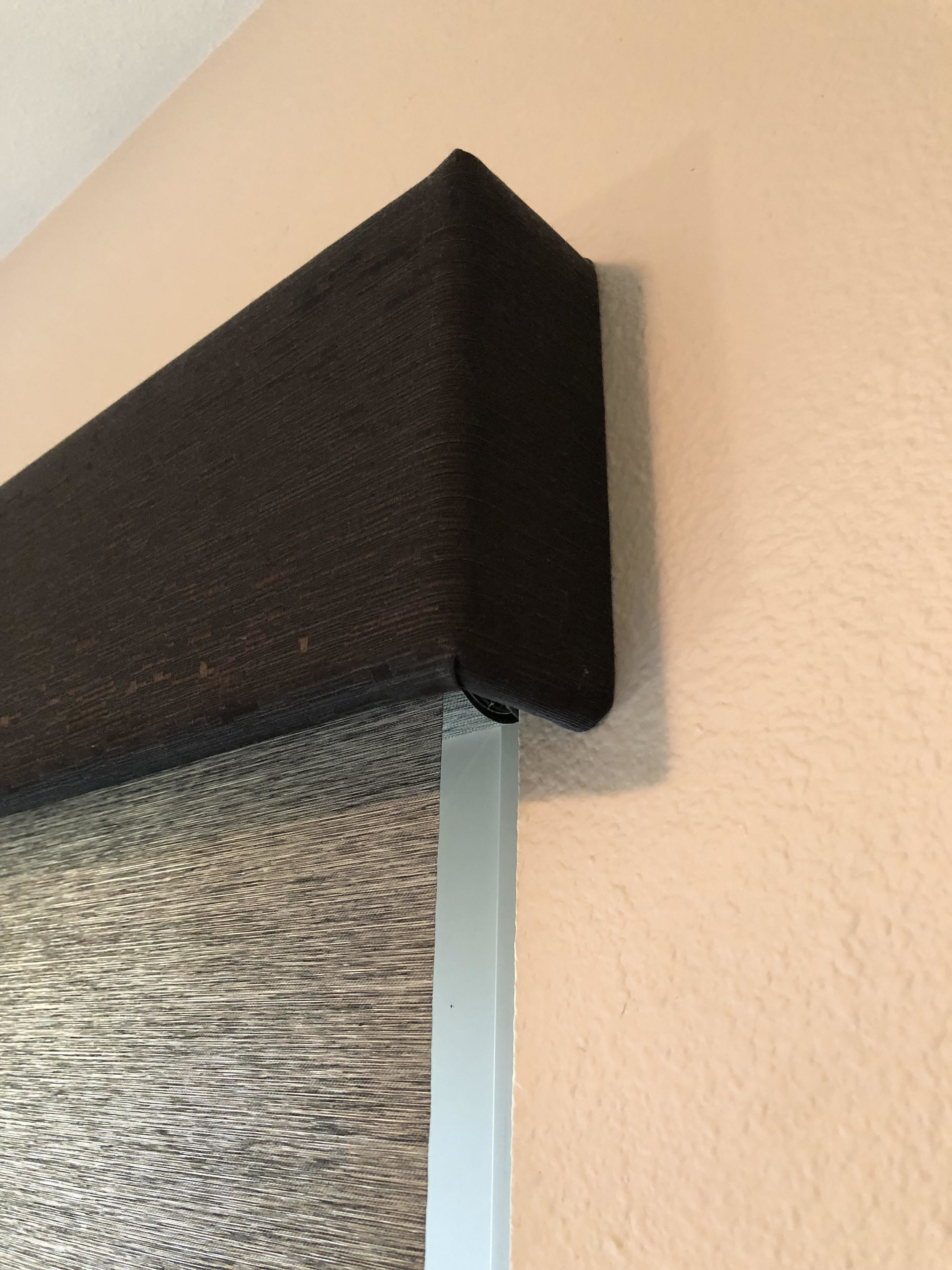 Outside Mount Roller Shade Valance