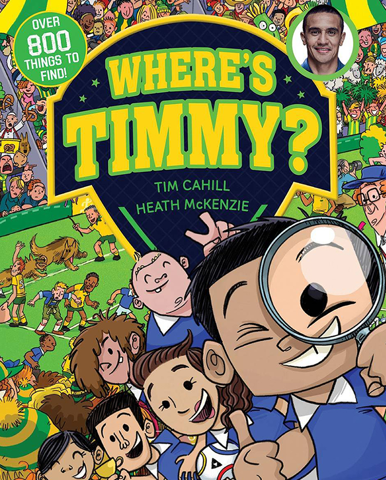 WHERE' S TIMMY?
