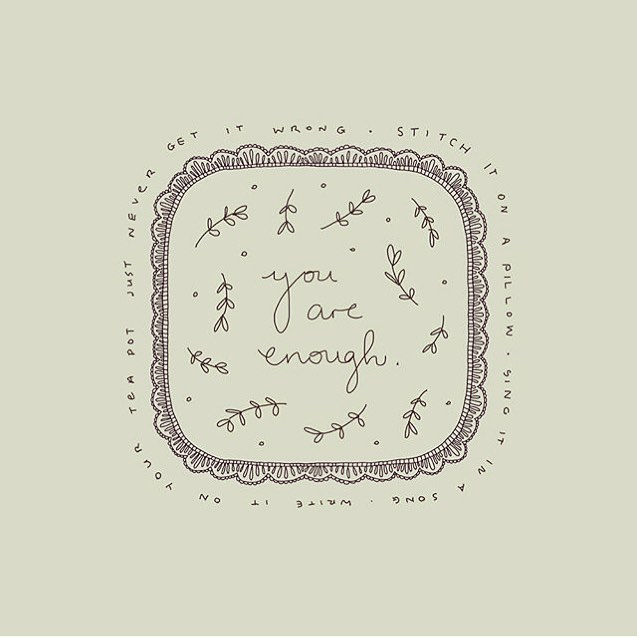 """""""Whatever we plant in our subconscious mind and nourish with repetition and emotion will one day become reality"""" ~ Earl Nightingale.  Beautiful image by Irish artist @maggie.molloy. Her sweet hand drawn illustrations were the inspiration for the design of my logo. Thank you Maggie I adore your art 🙏🌸💓 . . .  #traumasensitiveyoga #traumainformedyoga #selfcare #mentalhealthawareness #yoga #yogateacher"""
