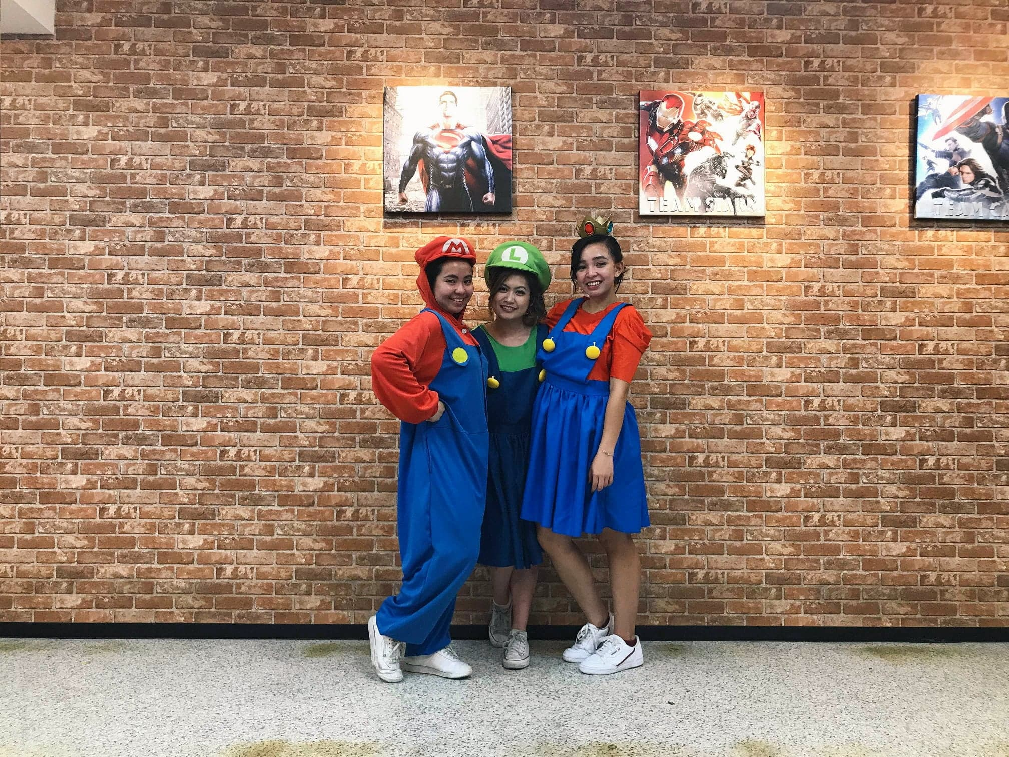 It is also fun as you get to dress up as one of Mario characters! -