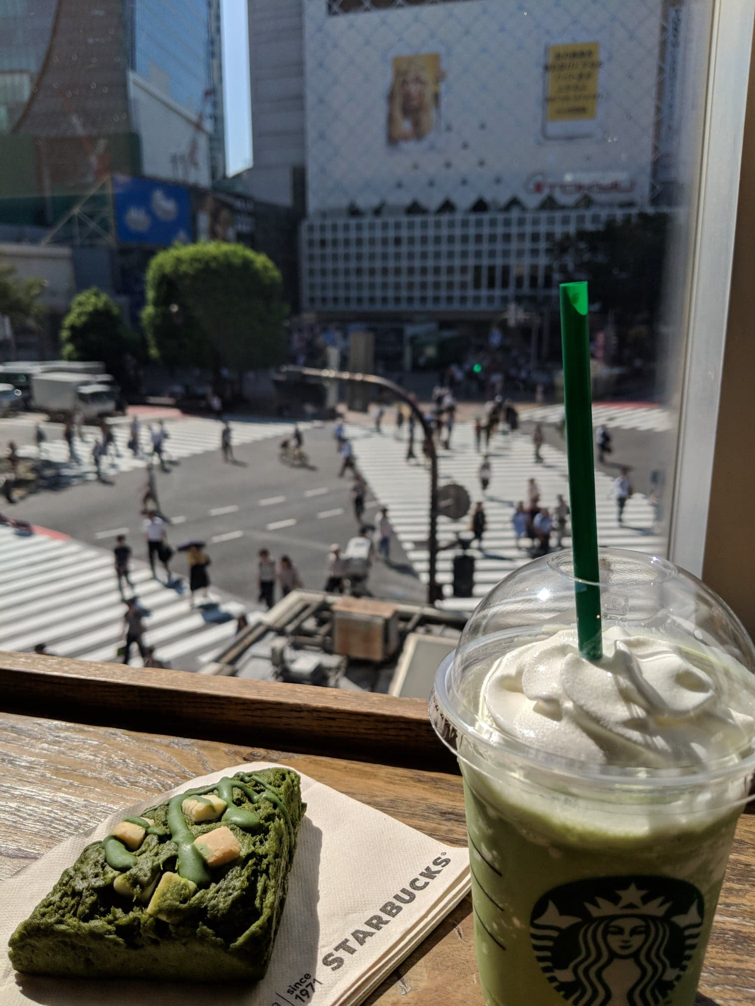 And while you are there, - I do recommend trying out Starbucks (there is one overlooking the Shibuya Crossing!) because they have some different food and drinks that you cannot get elsewhere. #PRO-TIP