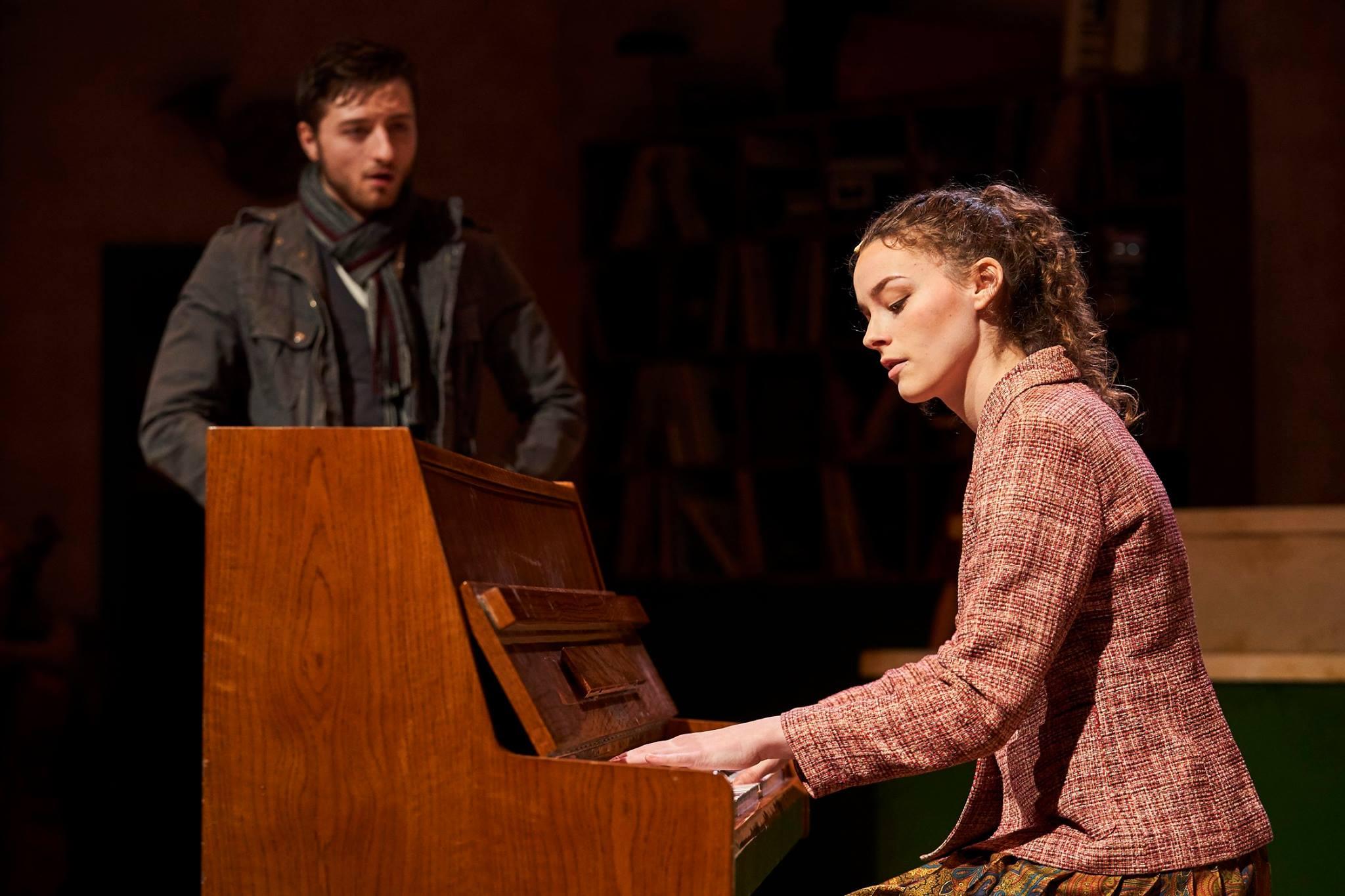 Julie Gilliland - Jake Slater (Guy) and Kelsey Brown (Girl) in Once. Photo Credit Roger Mastroianni.jpg