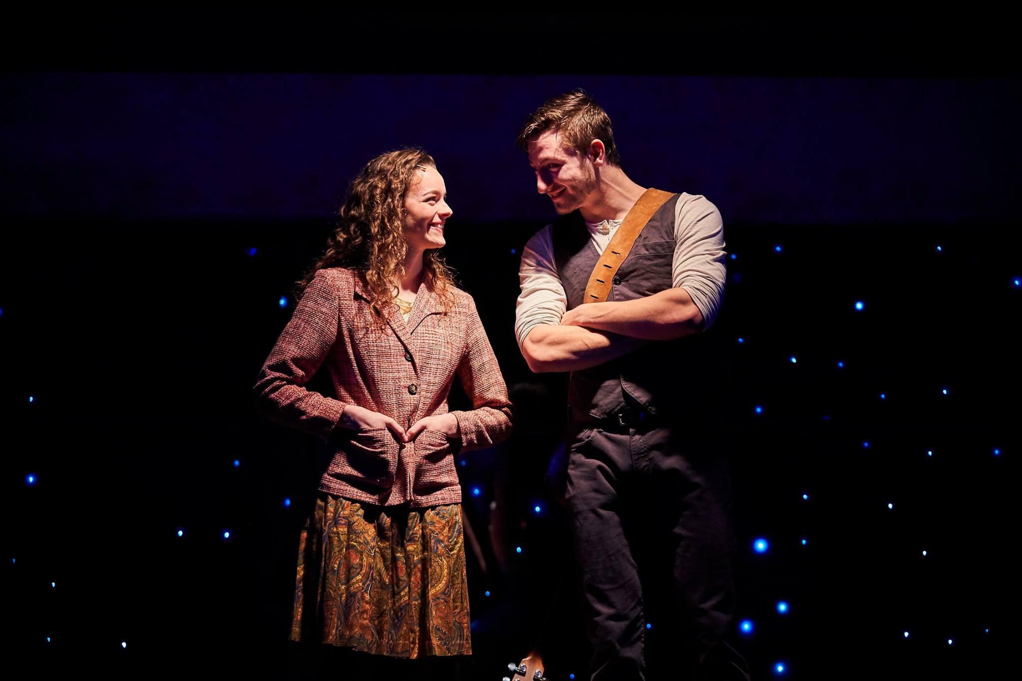 Julie Gilliland - Kelsey Brown (Girl) and Jake Slater (Guy) in Once. Photo Credit Roger Mastrioanni.jpg
