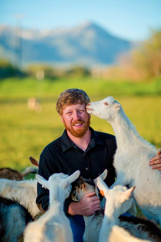 Nate brown - Nate attended Montana State University, studying mechanical engineering technology, but the attraction to farming remained strong. Composting the goat manure and straw bedding started his first business venture while in college. Nate took over the cheese making in 2007, further integrating himself with sustainable farming advancements. In 2008, Nate jumped at the opportunity to start raising pigs when an organic farmer from northern Montana wanted to sell them. Then in 2010, he built a high tunnel with a NCRS grant he received, starting the vegetable operation on the farm. And so, since adding new structures year to year he has built the vegetable operation that we have today.Nate is committed to soil health, organic growing techniques, sustainable practices (and tractors, he really likes tractors).