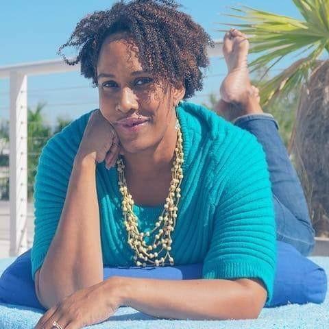 Shante' Haymore-Kearney  Curator of sisterhood and connection, Mindfulness Mentor, Sr. Yoga Teacher, Speaker  Brown Goddess Collective   @browngoddess_collective