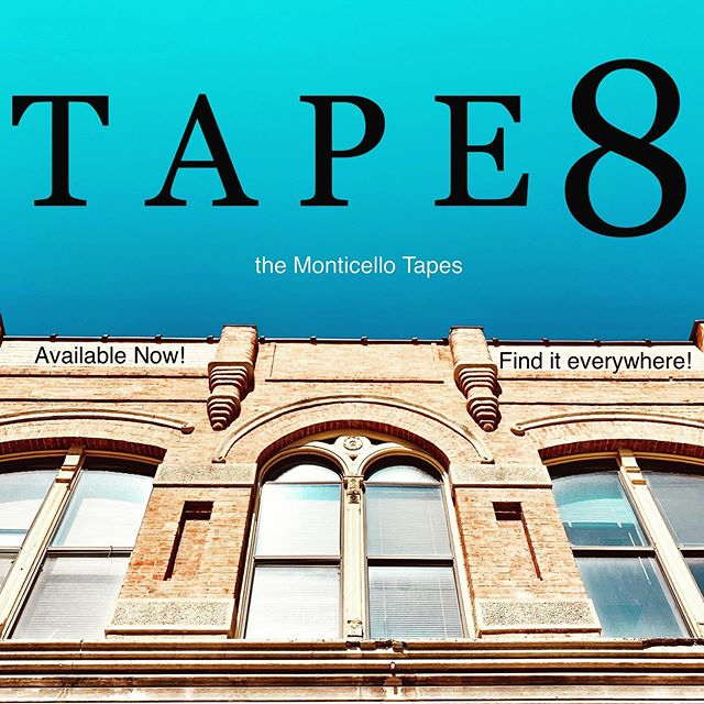 T A P E 8 - Now Available!! . . After an inspiring cycling class, Jack Stone interviews the Dailys to follow up on a lead. The Irvington county coroner releases his report, and lastly Omar Grassley continues to rally people, calling for the Mayor's impeachment! Tape 8 continues the Monticello Tapes series —  find it everywhere you find podcasts! . . . . #building #architecture #nowavailable #monticellotapes #podcast #murder #mystery #podcasts #podcasting #podcaster #podcasters #podcastlife #podcastshow #podcastlove #podcastaddict #podcasthost #podcastersofinstagram #podcastmovement #thatsdarling #adventure #wanderlust #ohio #smalltown #inspiration #beautiful #instagood #wonderlust #beautifulmatters