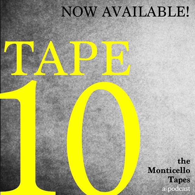TAPE 10 is out!! . . Looking for a good new podcast?! Try the Monticello Tapes! This fictional podcast follows a two week period where Jonathan Stone tries to figure out the murder of Elizabeth O'Neil...all the while his small town Ohio home falls apart. Episode 10 rockets the story...leaving you wanting more! . Find it everywhere Podcasts can be found! . . . #released #tape10 #graphicdesign #art #nowavailable #monticellotapes #podcast #murder #mystery #podcasts #podcasting #podcaster #podcasters #podcastlife #podcastshow #podcastlove #podcastaddict #podcasthost #podcastersofinstagram #podcastmovement #thatsdarling #adventure #wanderlust #ohio #smalltown #inspiration #beautiful #instagood #wonderlust