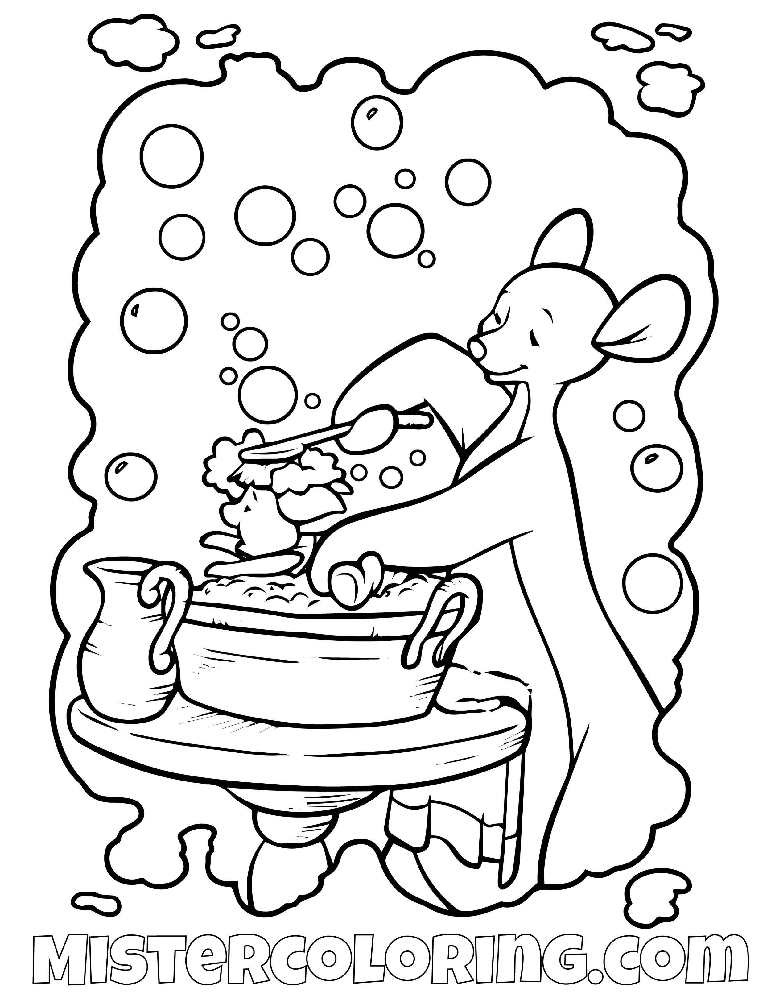 Winnie The Pooh 4 Coloring Page