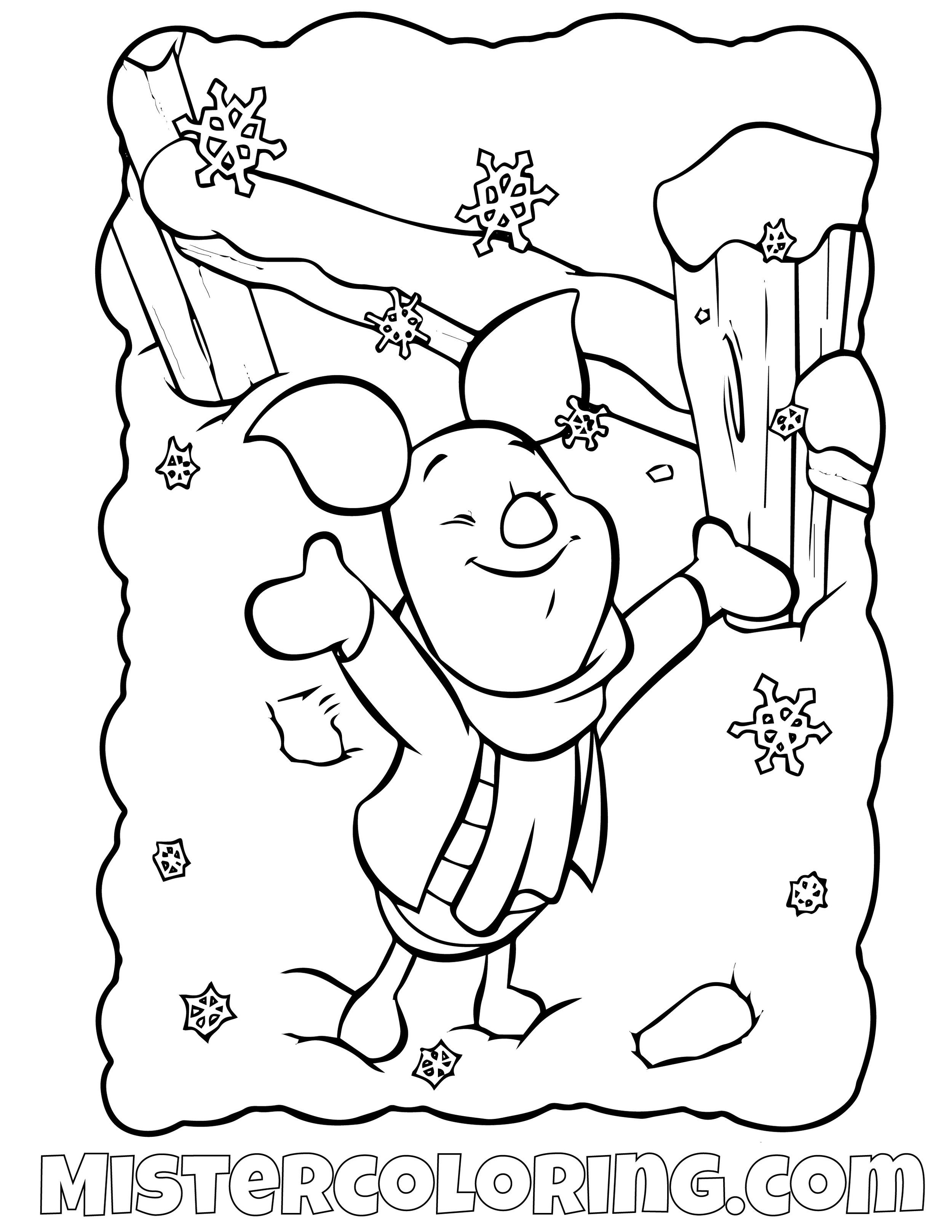 Winnie The Pooh 20 Coloring Page