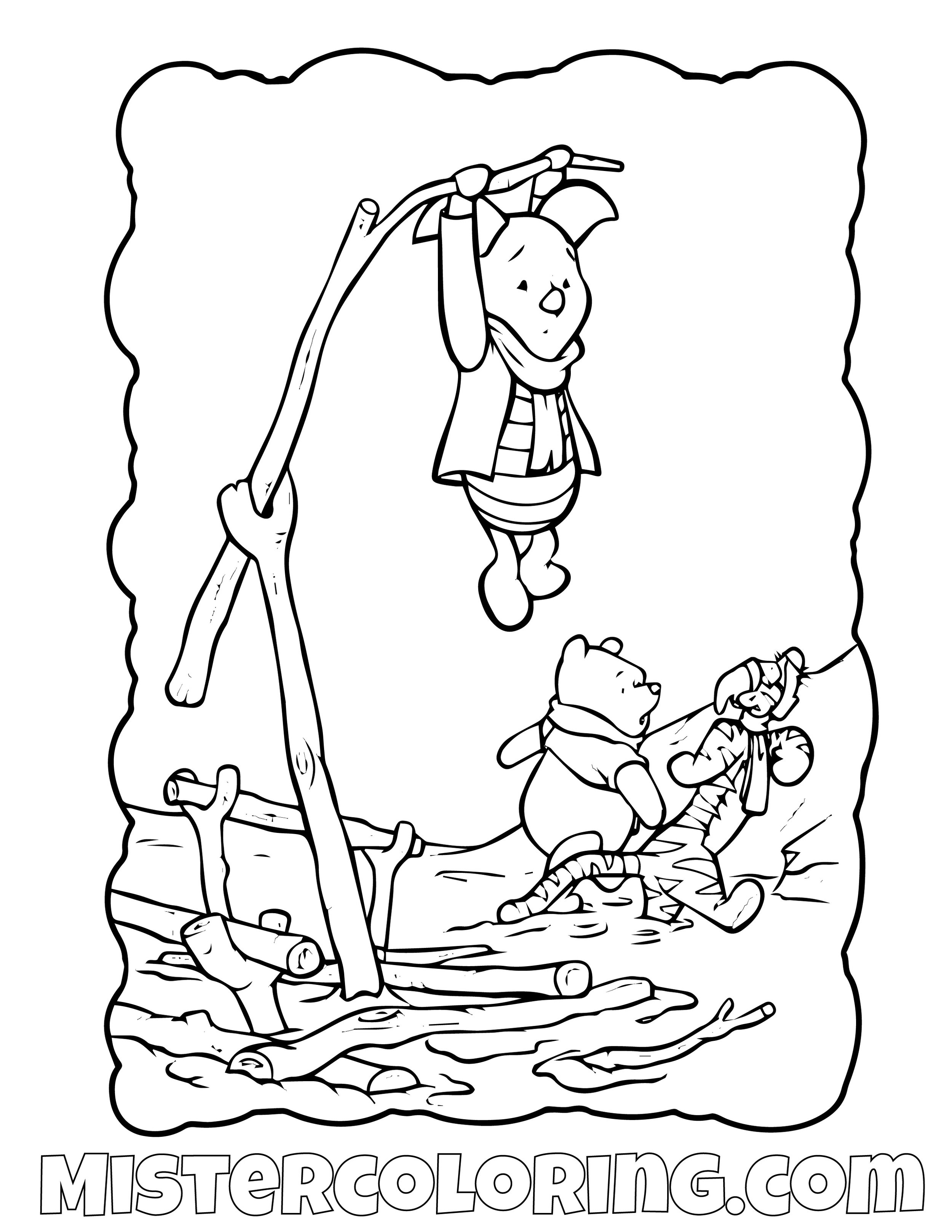 Winnie The Pooh 26 Coloring Page