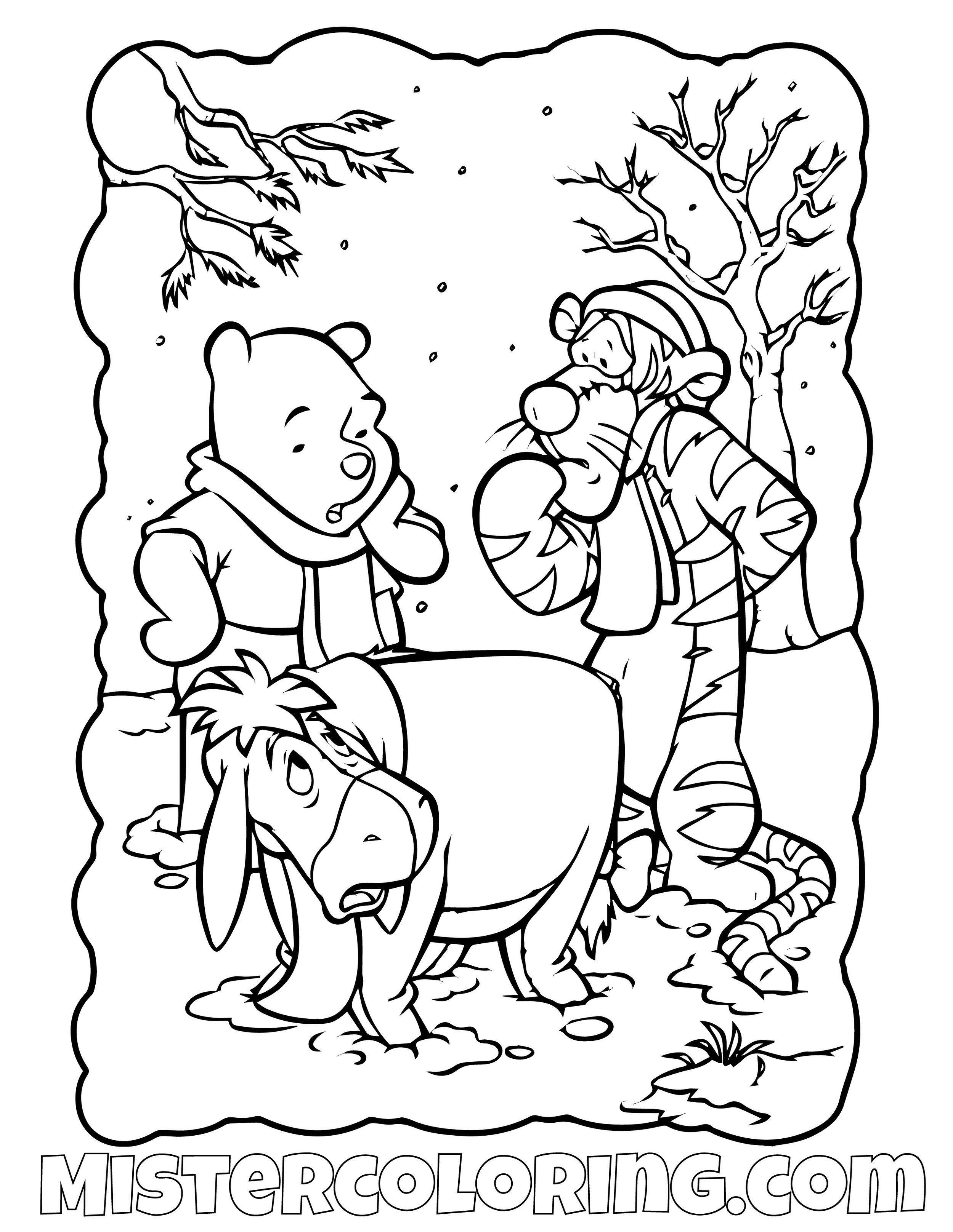 Winnie The Pooh 27 Coloring Page