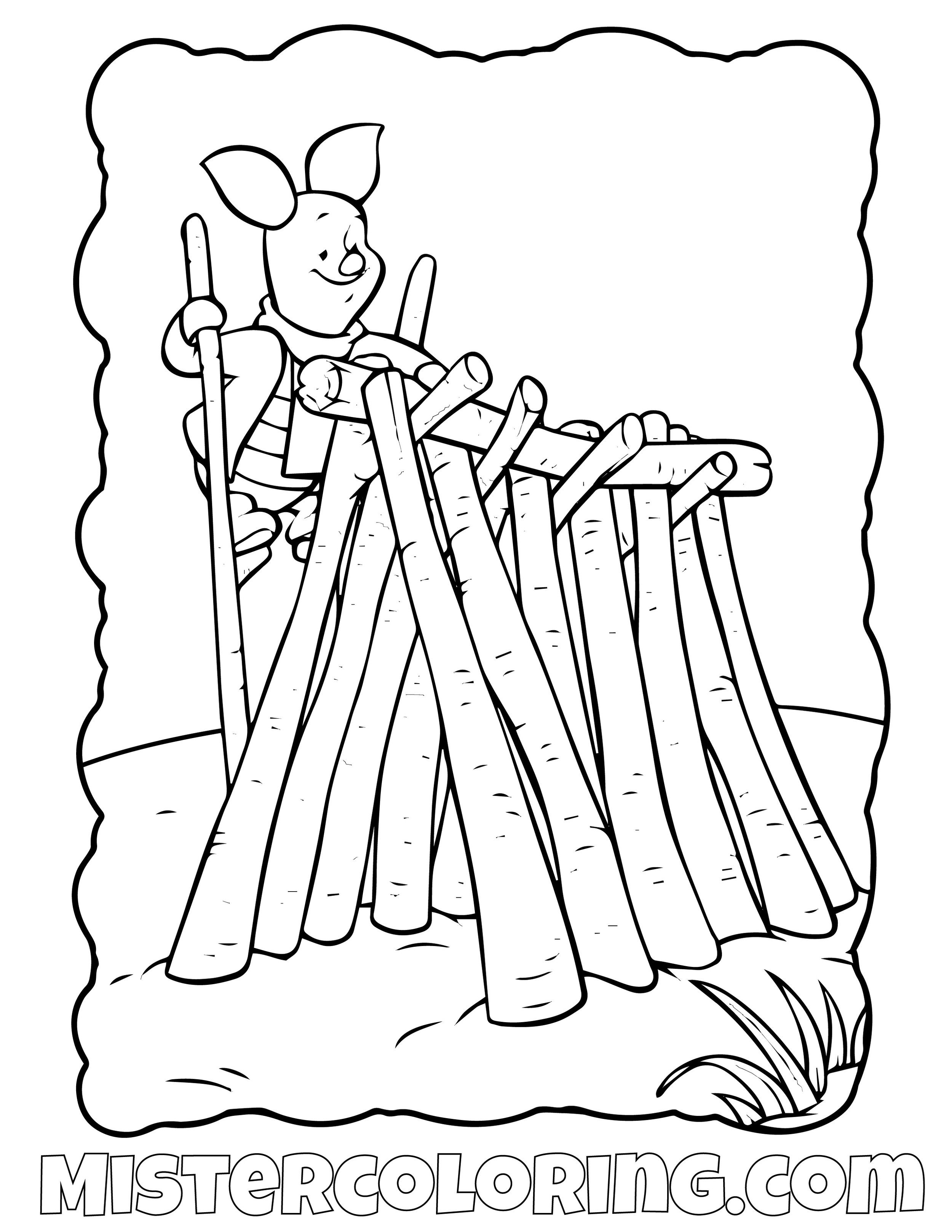 Winnie The Pooh 28 Coloring Page
