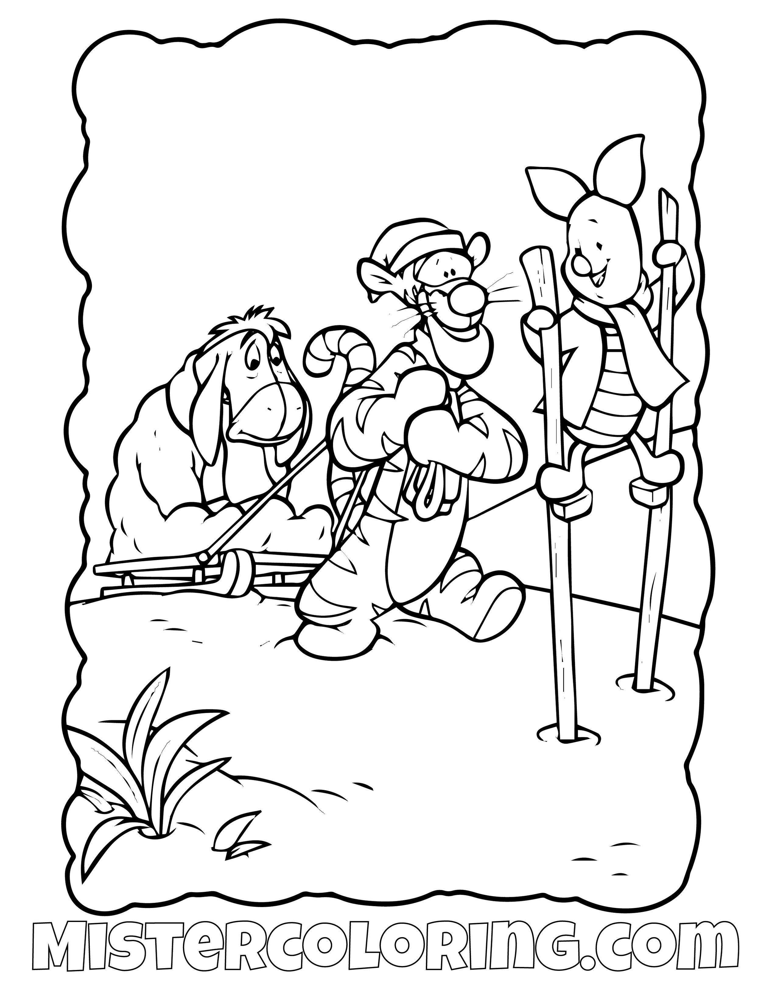 Winnie The Pooh 30 Coloring Page