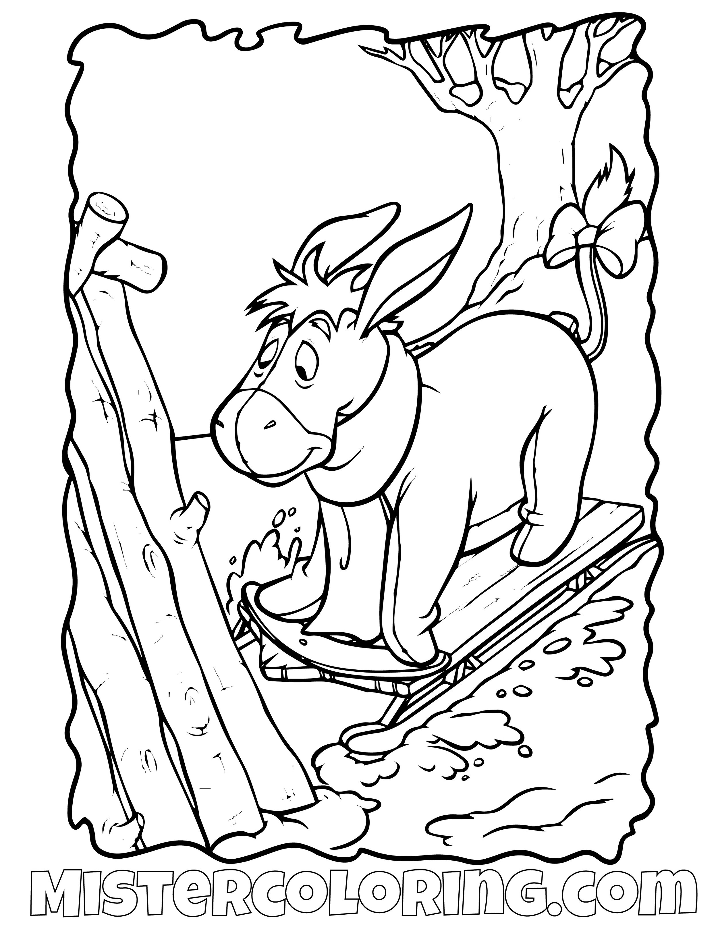 Winnie The Pooh 31 Coloring Page