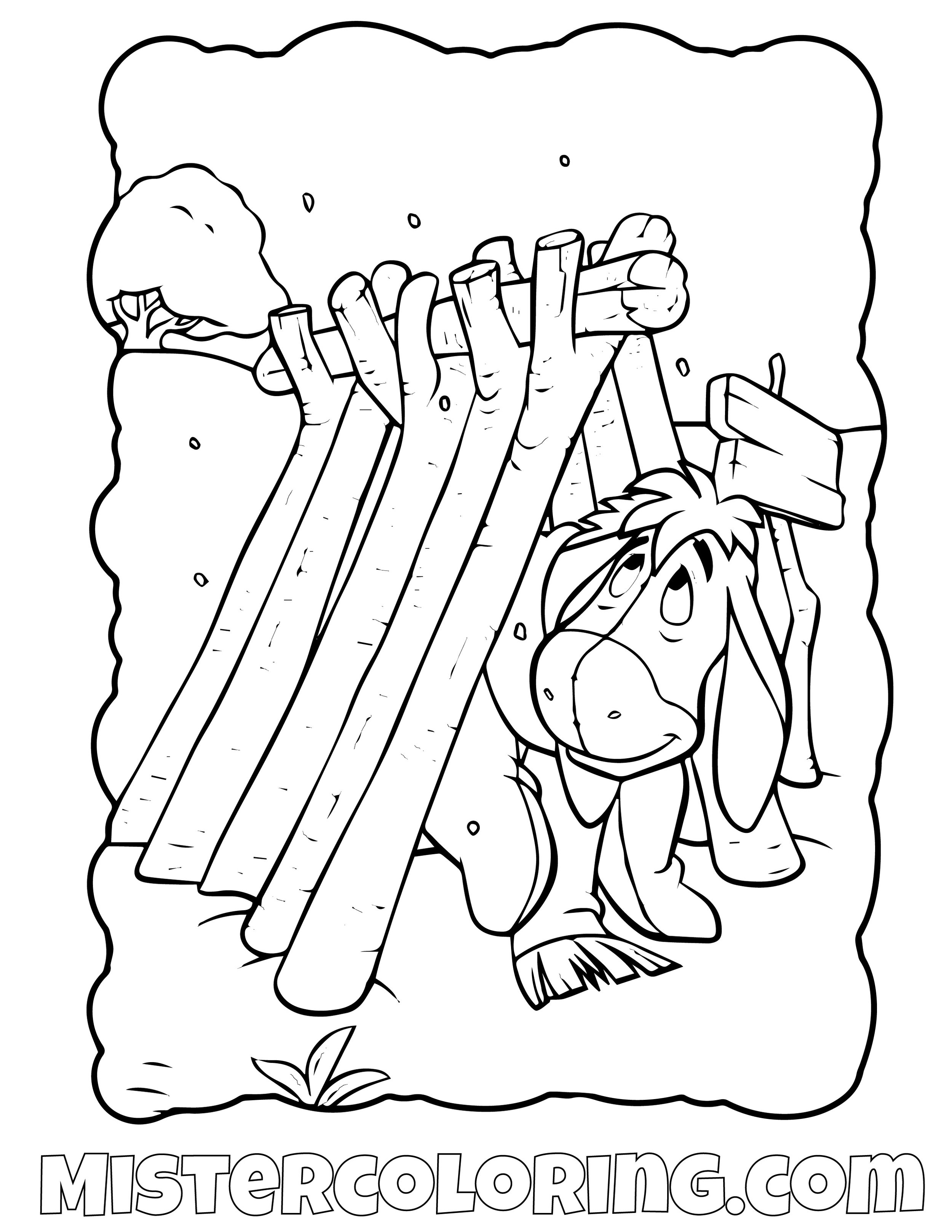 Winnie The Pooh 32 Coloring Page