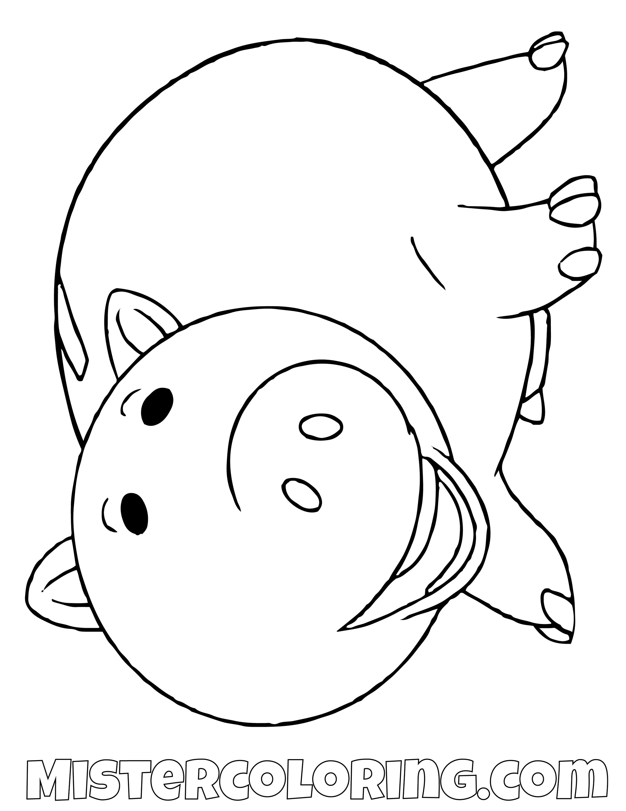 Ham Toy Story Coloring Page