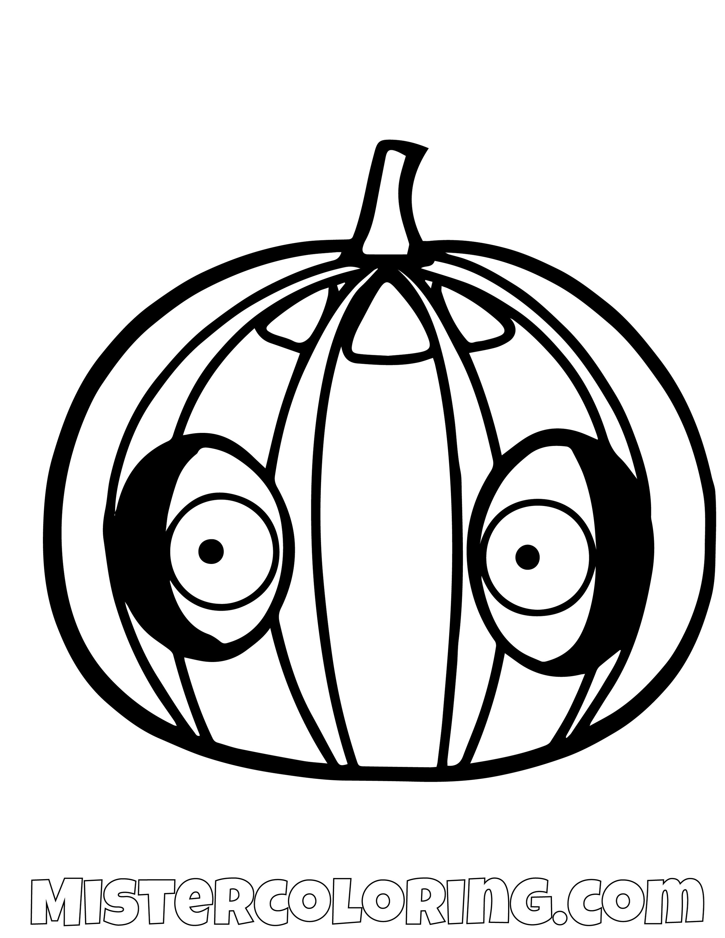 Pumpkin Pig Angry Bird Coloring Pages