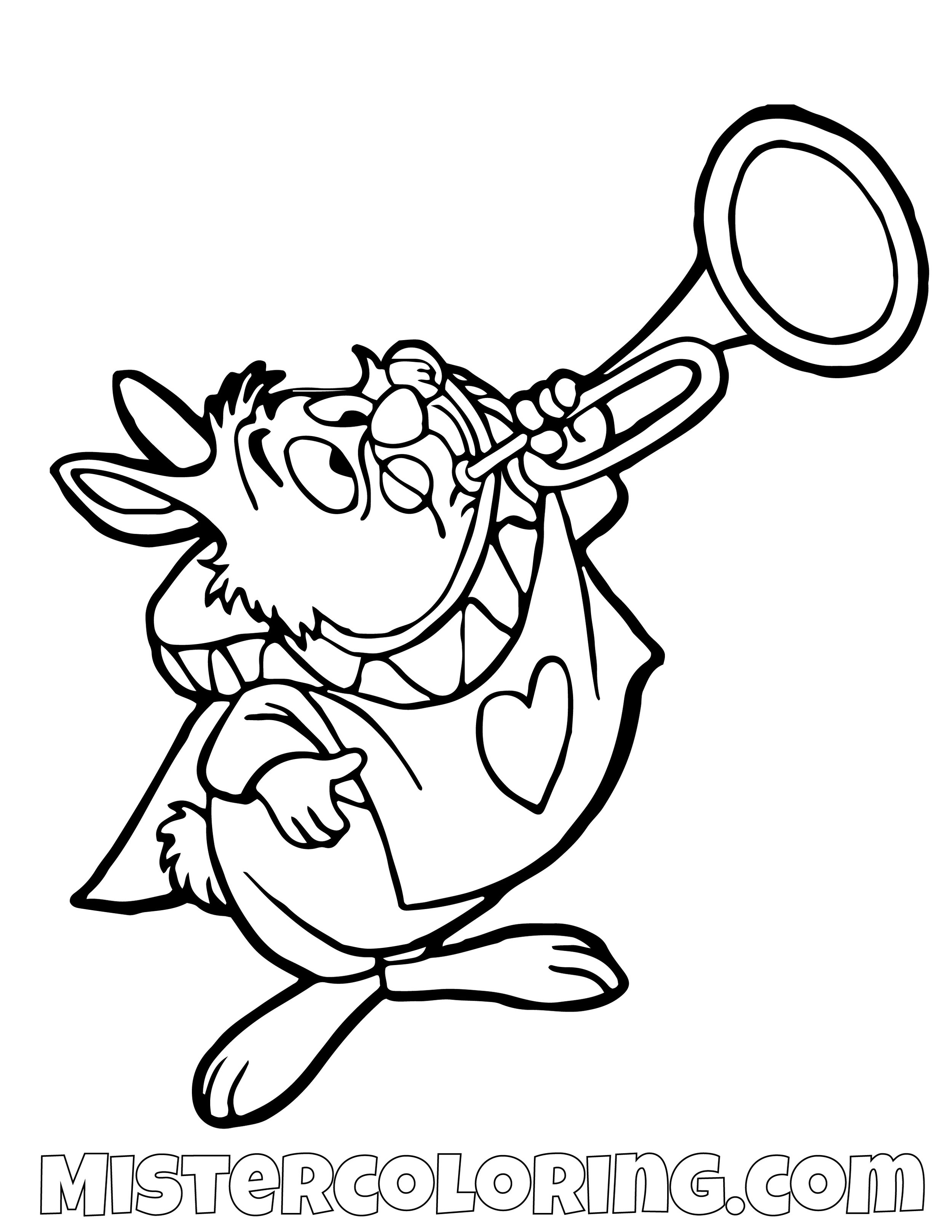 - Alice In Wonderland Coloring Pages — Mister Coloring