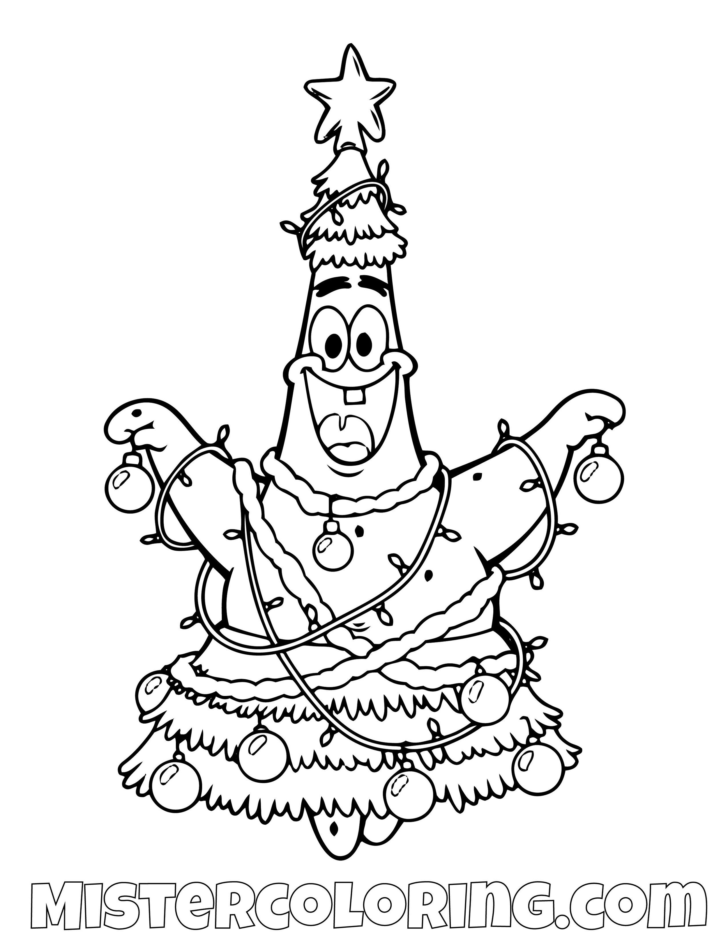 Spongebob Squarepants Coloring Pages For Kids — Mister Coloring