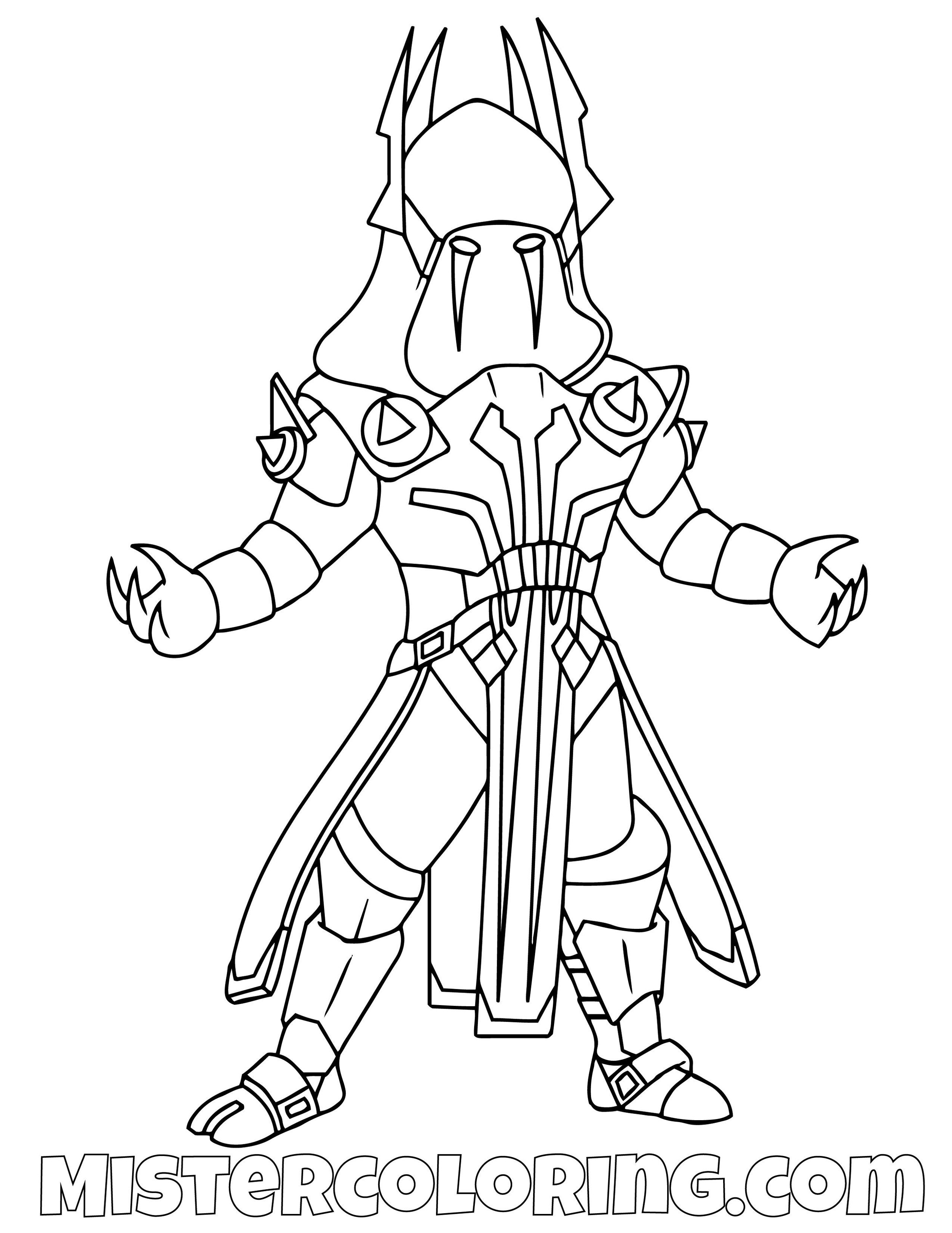 Fortnite Printable Coloring Pages