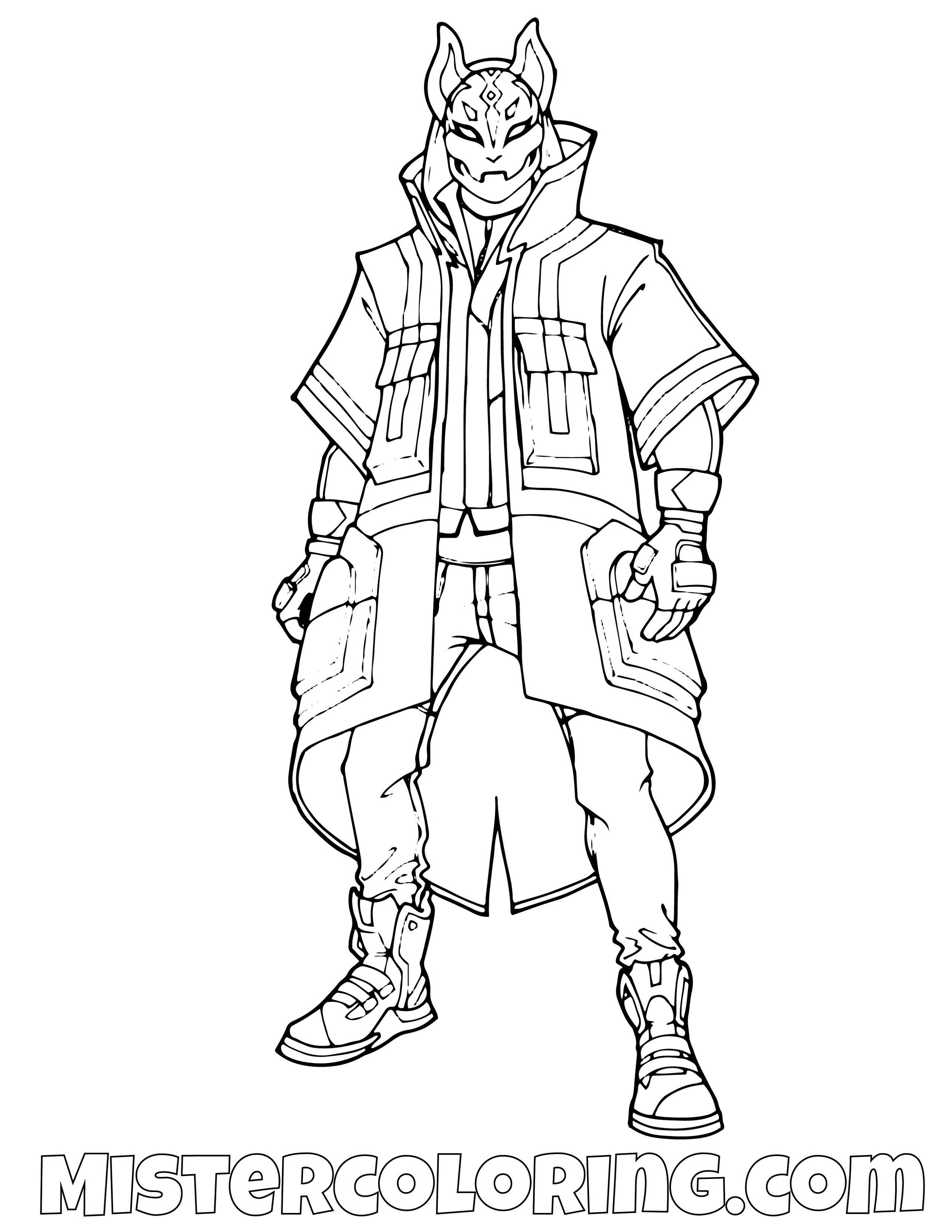 - Fortnite Coloring Pages For Kids — Mister Coloring