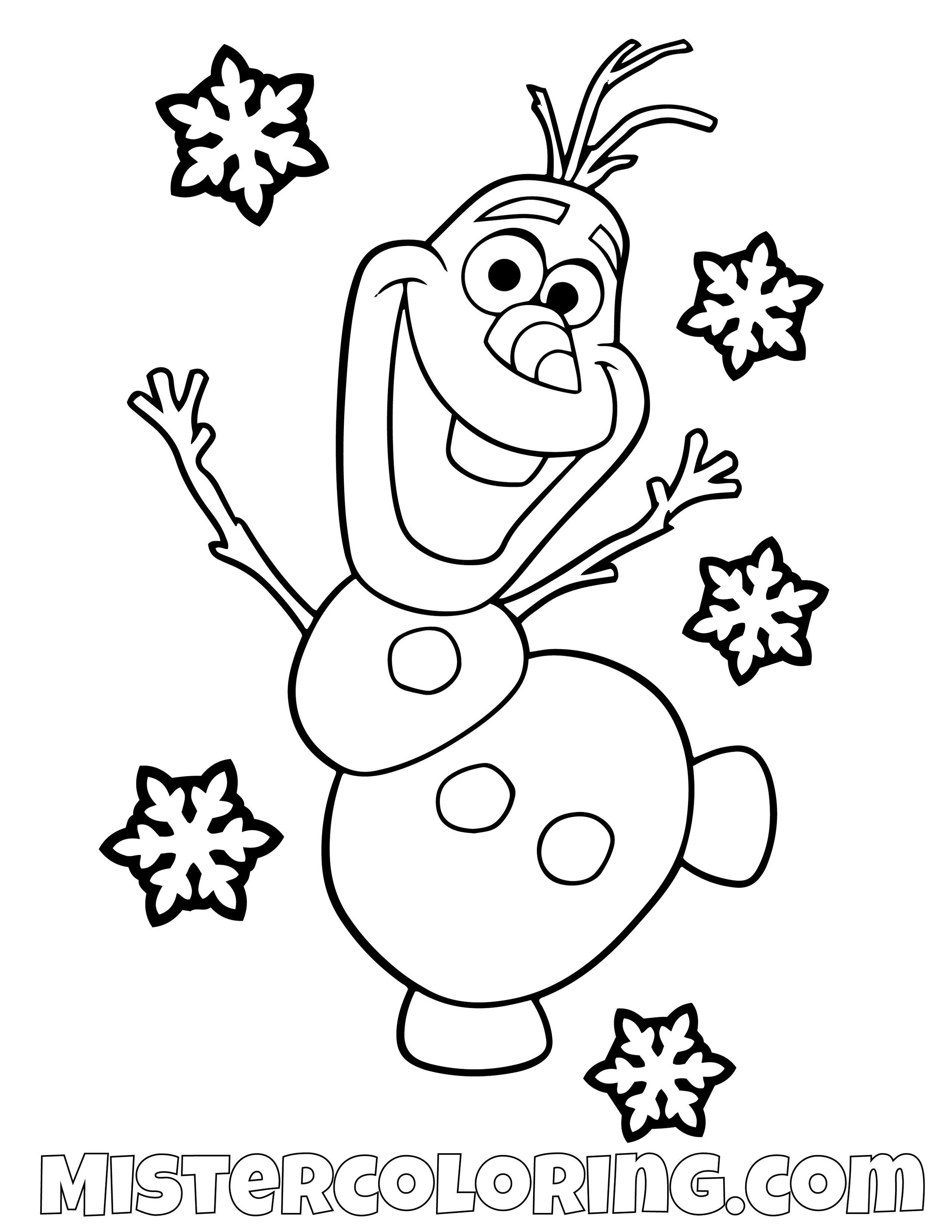 Olaf Coloring Pages Coloringnori Coloring Pages For Kids