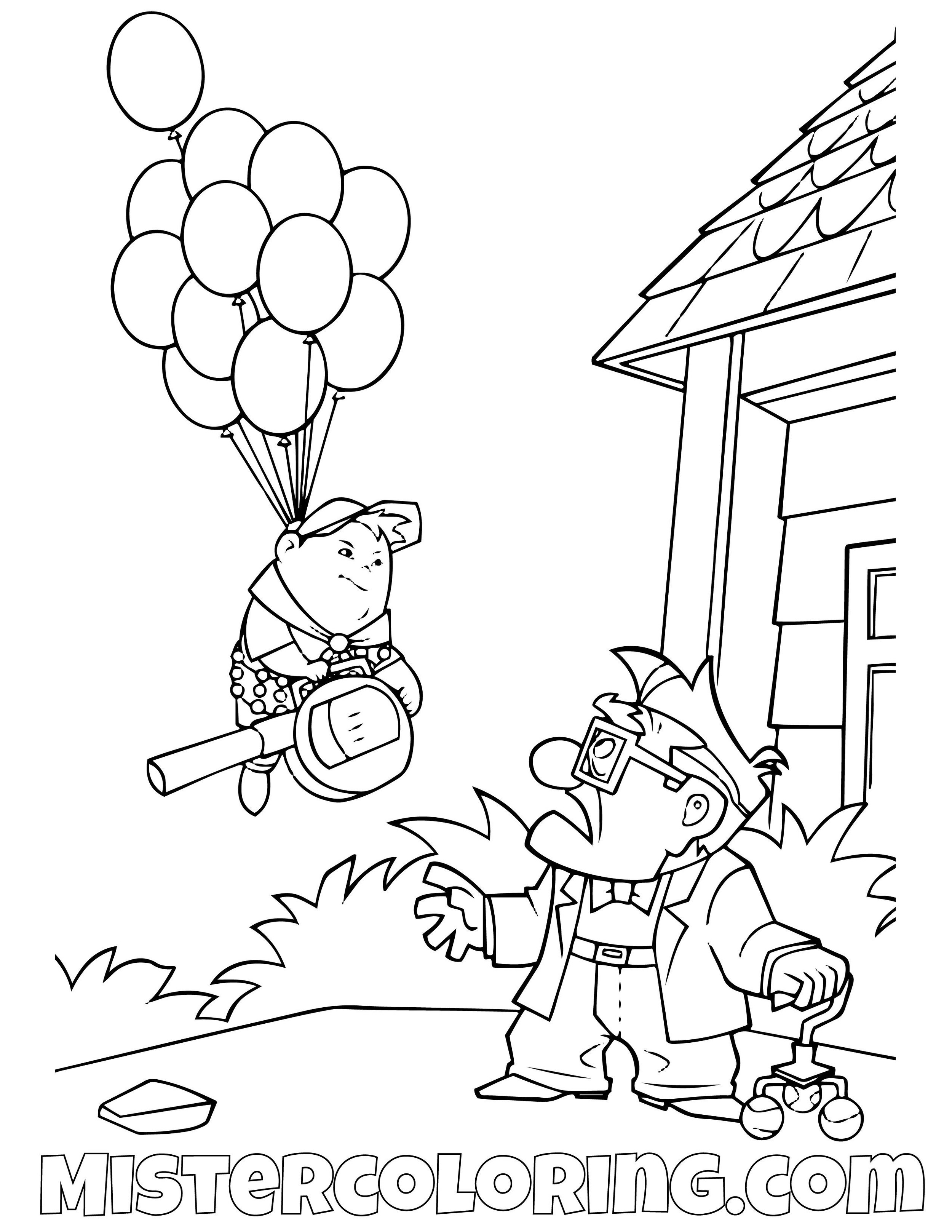 - UP Coloring Pages For Kids — Mister Coloring