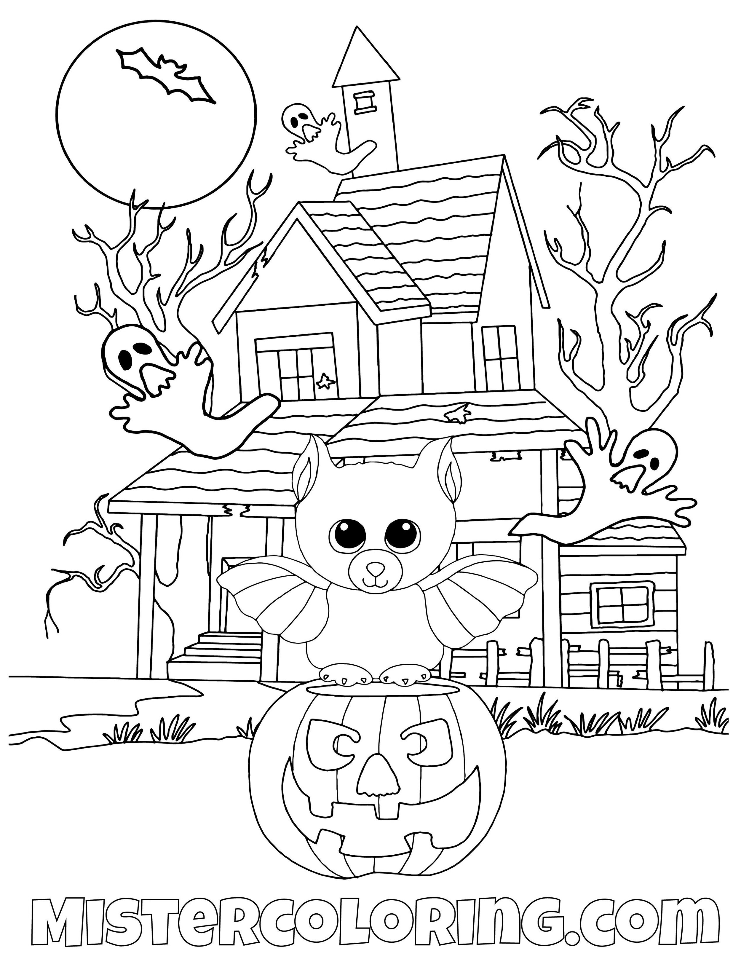 Halloween coloring book pages: Halloween coloring pages, trick-or ... | 1294x1000