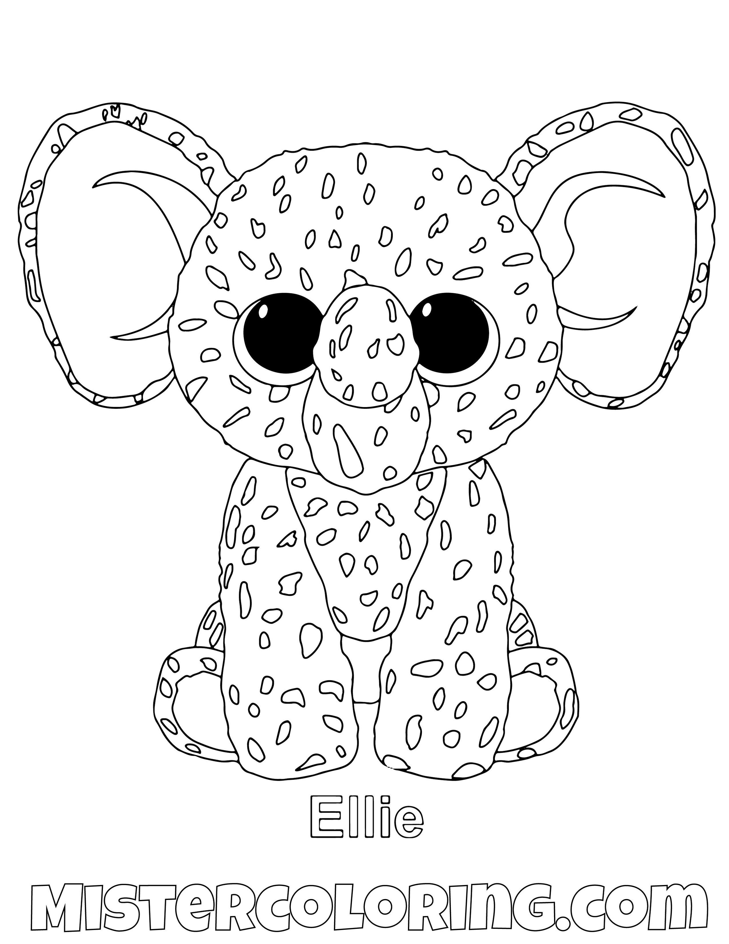 - Beanie Boo Coloring Pages For Kids — Mister Coloring