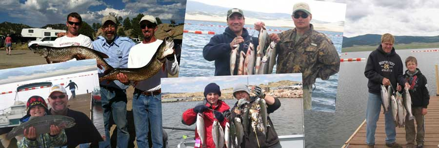fishing guide trip catches