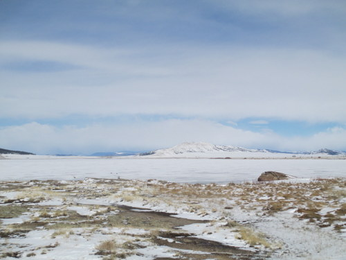 Looking West from Rocky Flats to Spinney Mountain Thursday 11:00AM