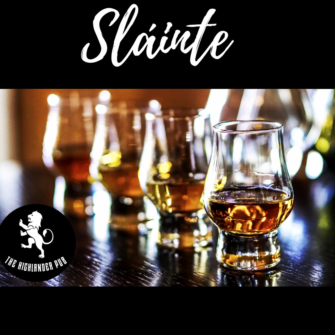 Send us a message or stop by for a dram!