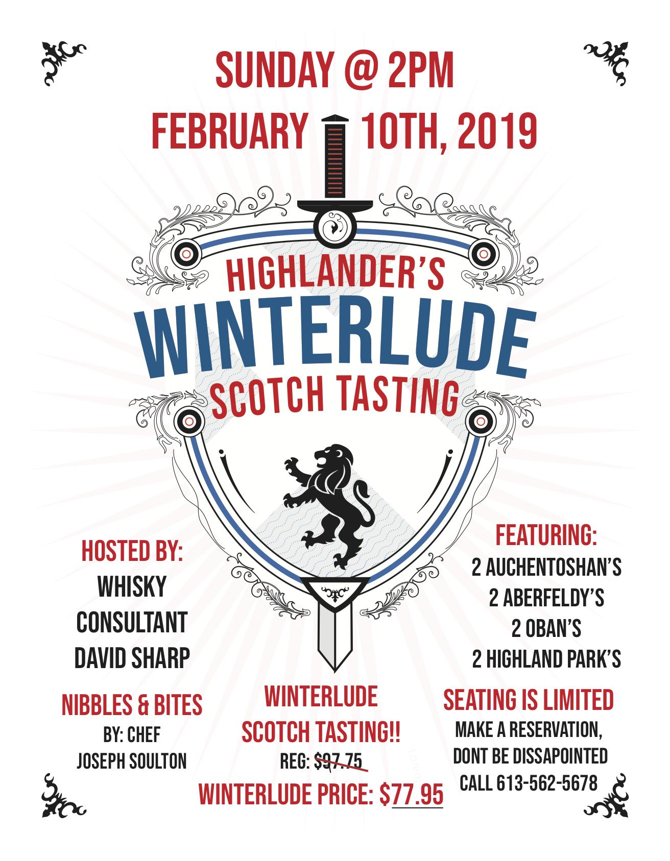 highlander-pub-ottawa-winterlude-tasting-2019