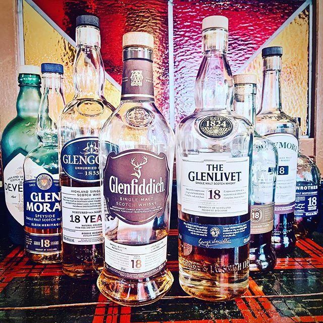 18 Year Old Scotch Tasting this Sunday! August 11th starting at 2pm. RSVP you & your friends by hittin' the email button in our profile! Only $75 a person for 8 samples of some GLORIOUS 18 year old whiskies! 🥃 🥃 🥃 🥃  THE DEVERON 18 / @thedeveronwhisky  GLEN MORAY 18 YEAR OLD / @glen_moray_whisky  GLENGOYNE 18 YEAR OLD / @glengoyne  GLENFIDDICH 18 YEAR OLD / @glenfiddichwhisky  THE GLENLIVET 18 YEAR OLD / @theglenlivet  TOMATIN 18 YEAR / @tomatinwhisky  BOWMORE 18 YEAR OLD / @bowmore  THE GLENROTHES SOLEO COLLECTION 18 YEAR OLD / @theglenrothes 🏴 🏴 🏴 🏴 #highlanderpubottawa #bowmore #theglenrothes #tomatin #glenlivet #glenfiddich #glengoyne #glenmoray #thedeveron #18yearoldscotch