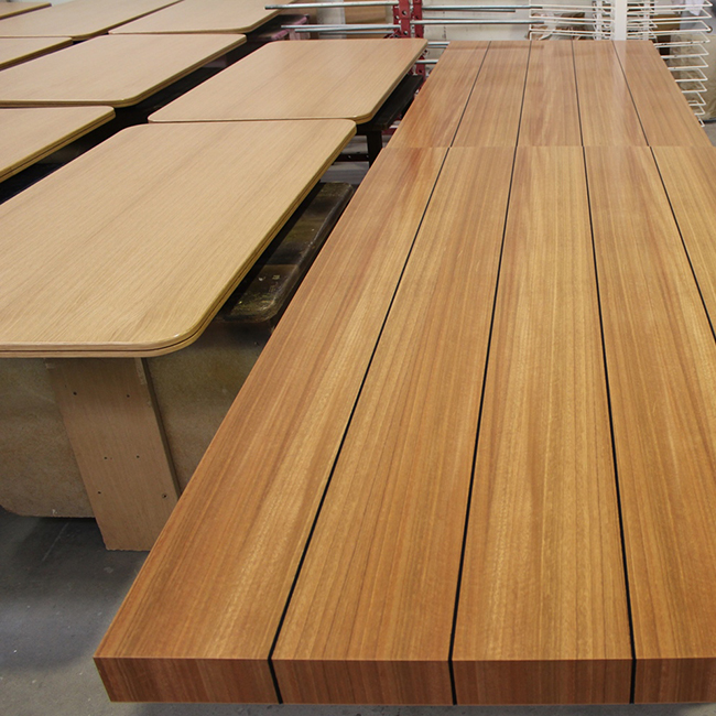 SPECIALTY PRODUCTS - Fully qualified in corian manufacture. Boardroom tables, veneer joinery, reception desks.