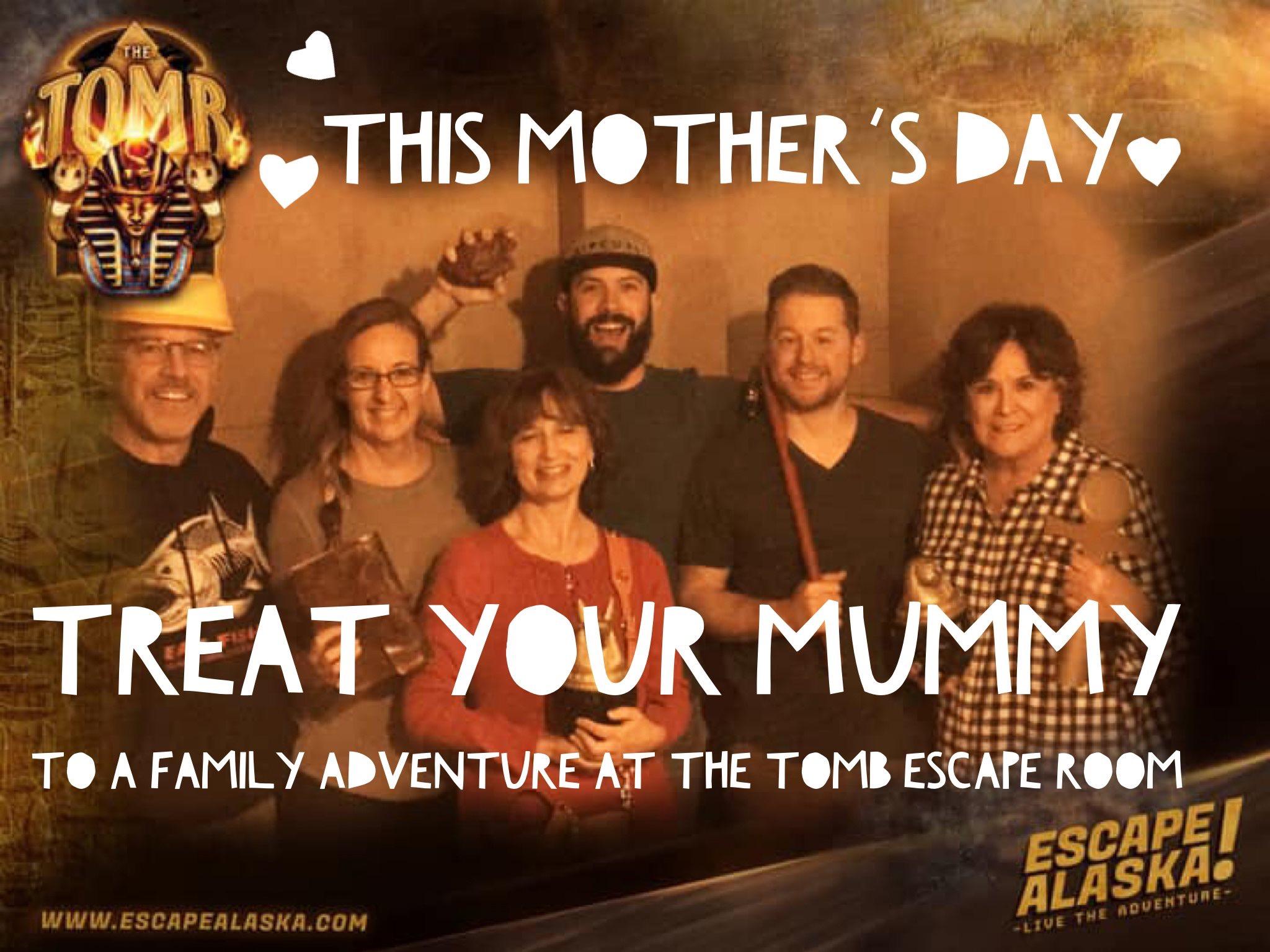 #mothersday #escapealaska #playescapeak #escaperoom #anchorage #alaska