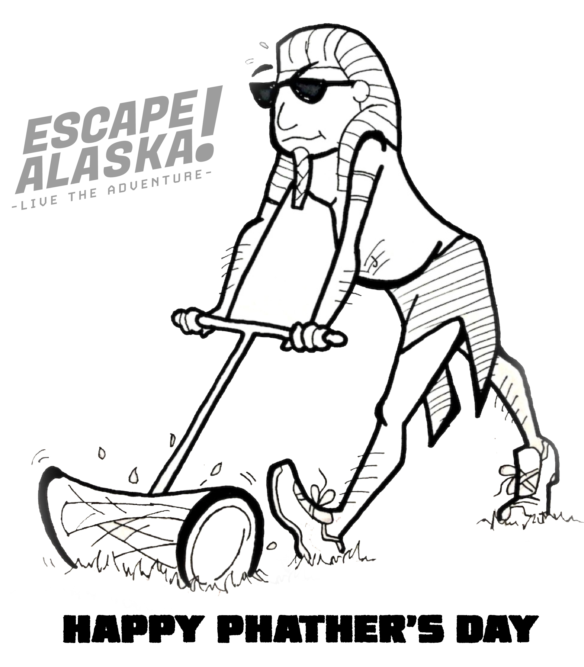 This Father's Day give Dad the gift of an adventure at ESCAPE! Alaska.