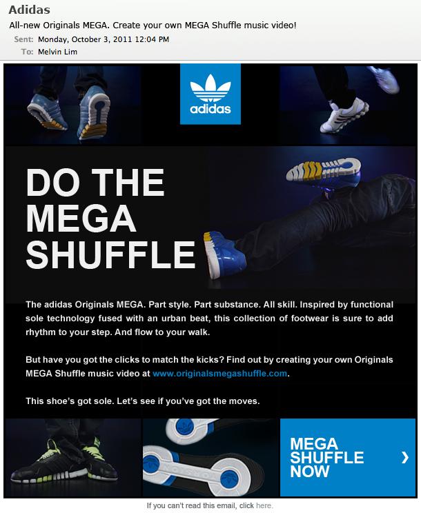 Adidas Originals Mega Shuffle Melvin Lim