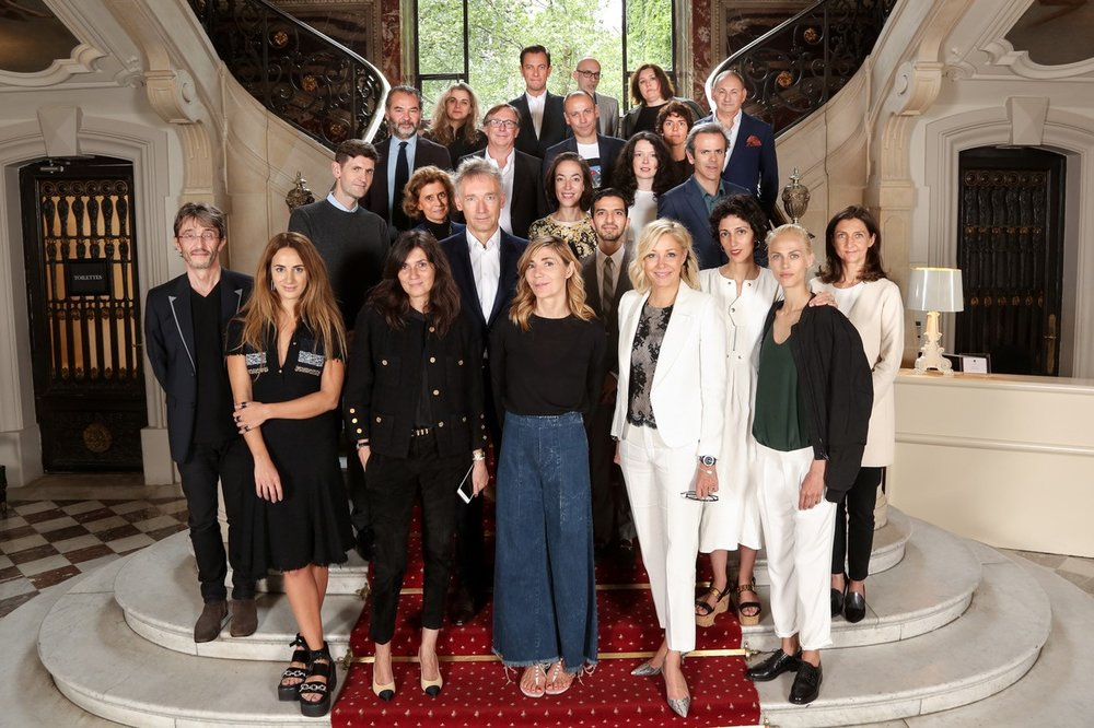 ANDAM Fashion Award jury, chaired by Guillaume Houzé since 2018