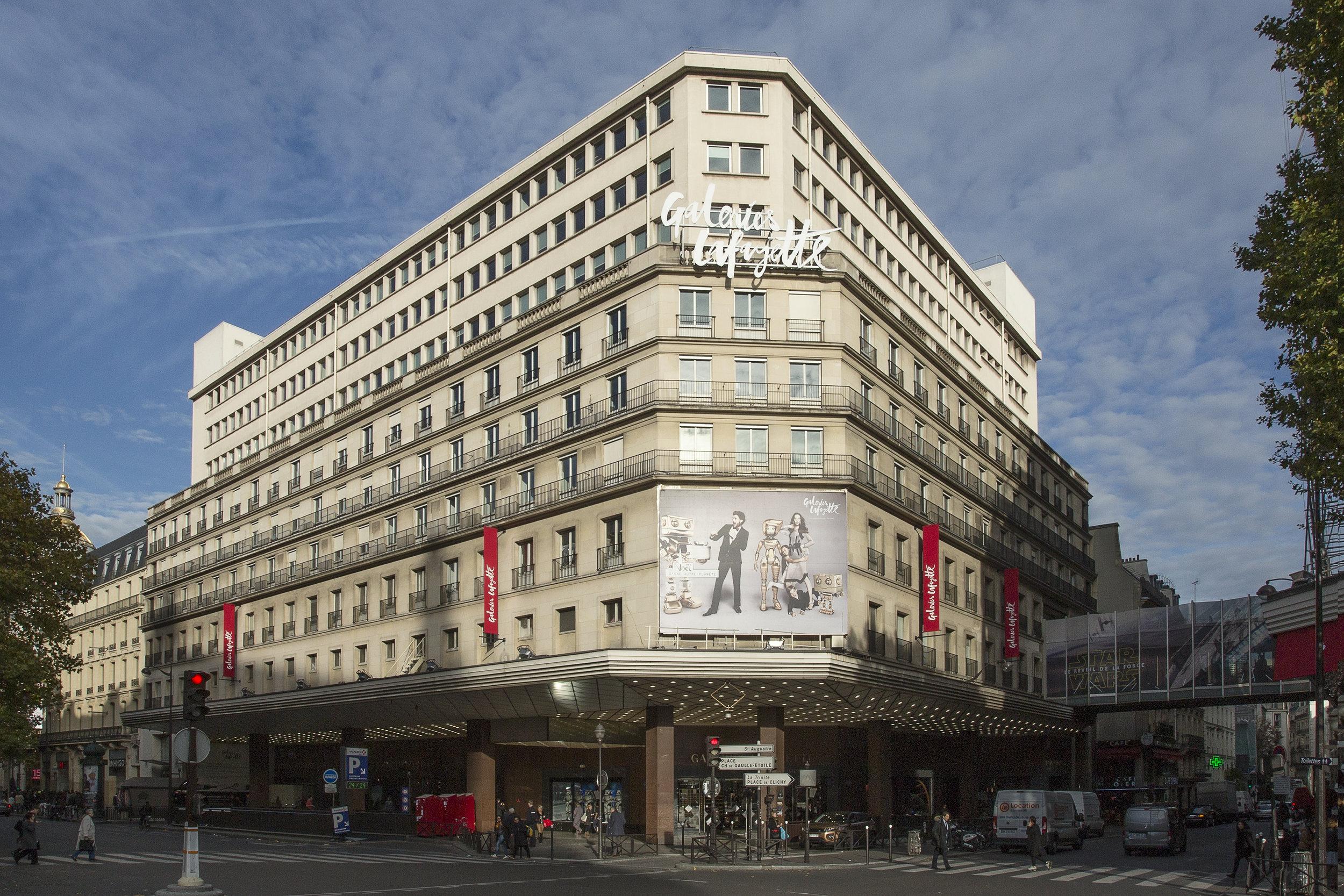 Galeries Lafayette Haussmann, men's store