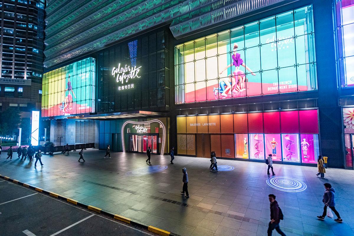 Galeries Lafayette Shanghai, 2019